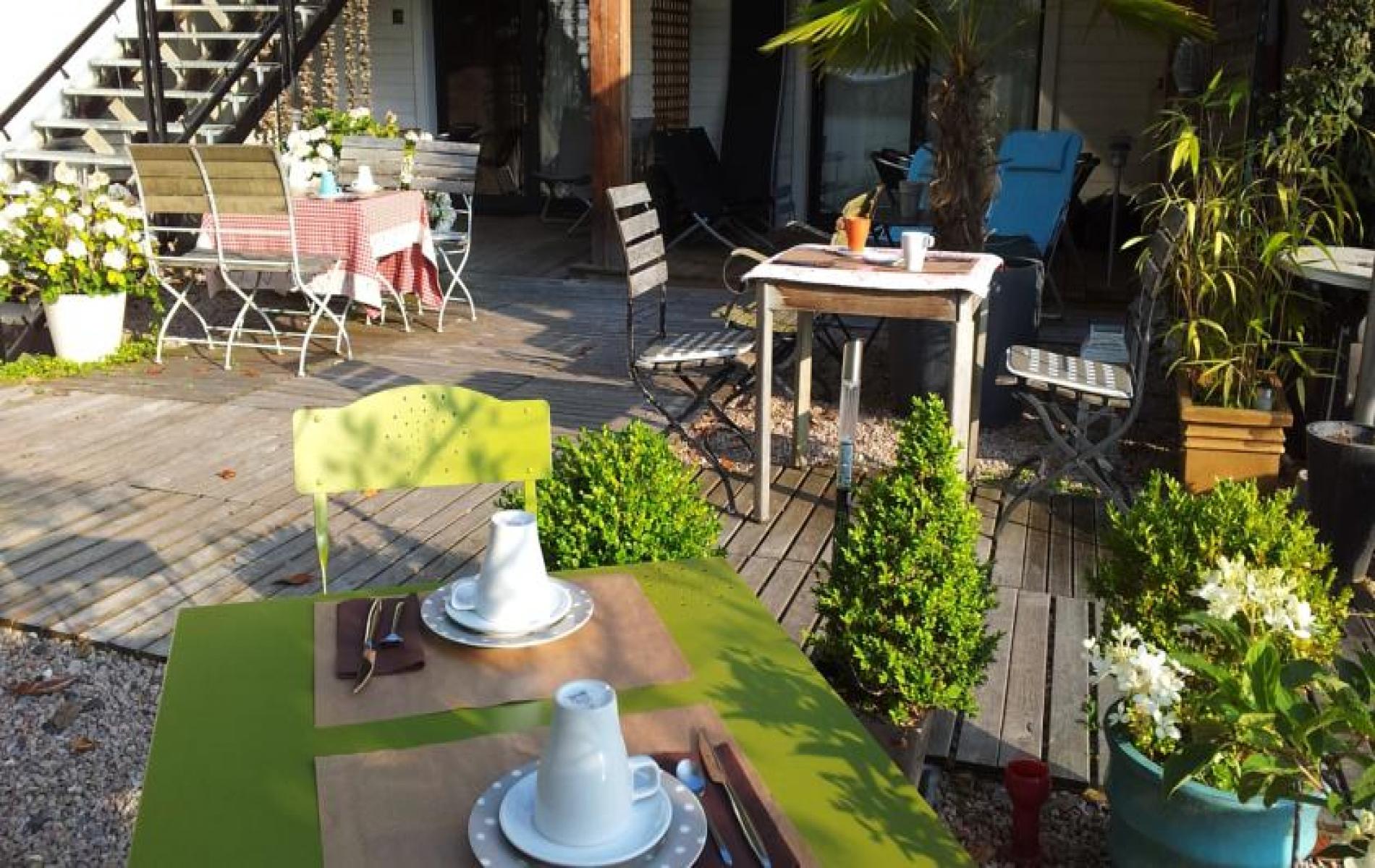 Petit Déjeuner à l'hôtel Monet à Honfleur