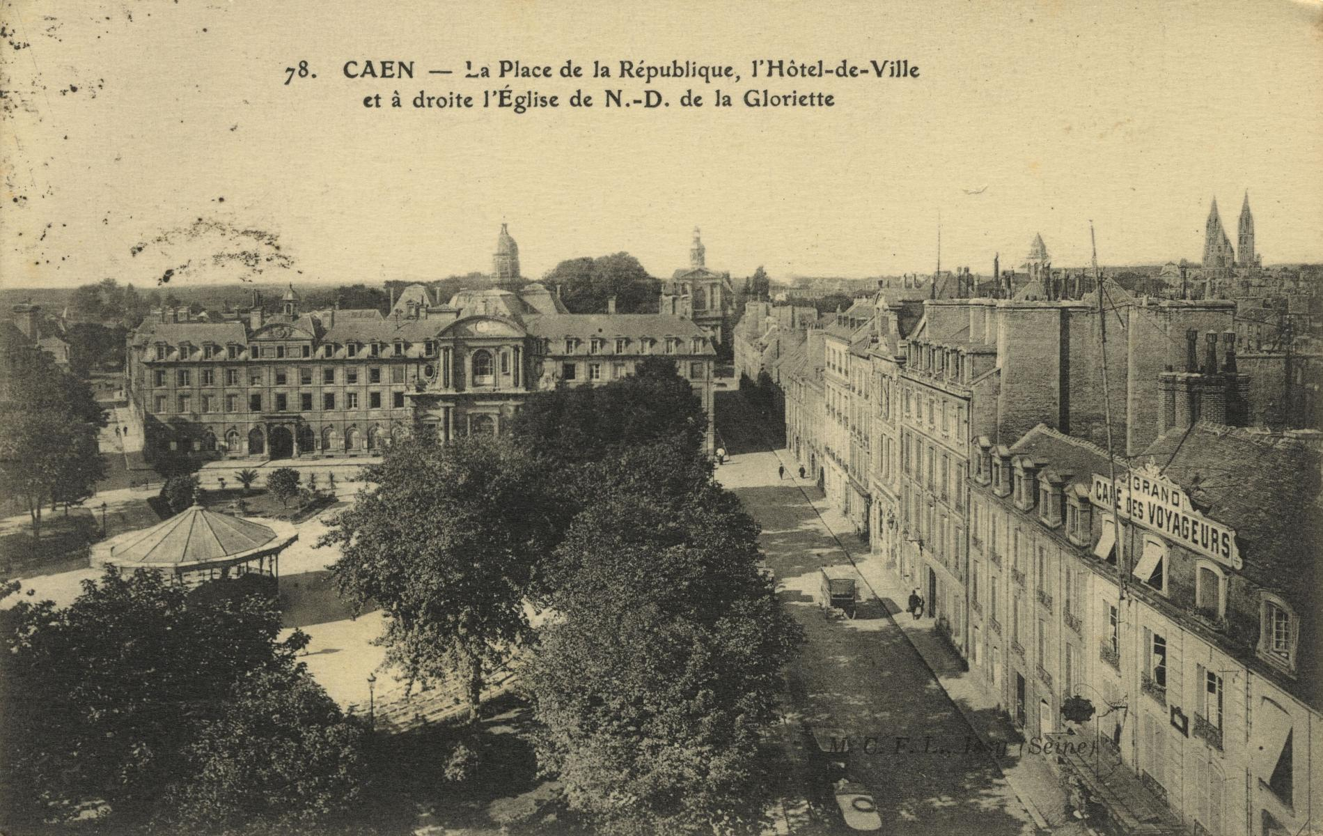 LA PLACE DE LA REPUBLIQUE