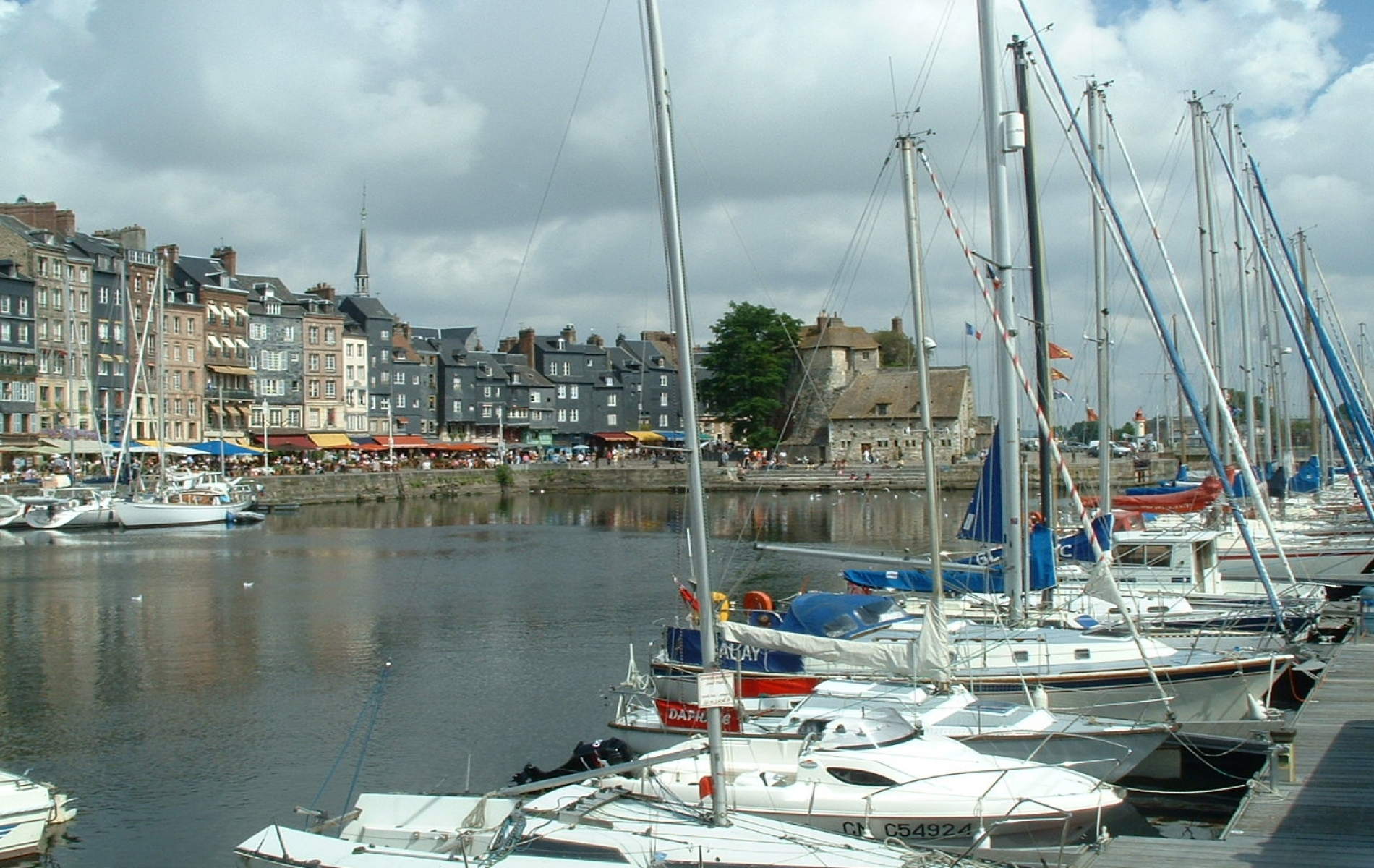 Hafen van Honfleur