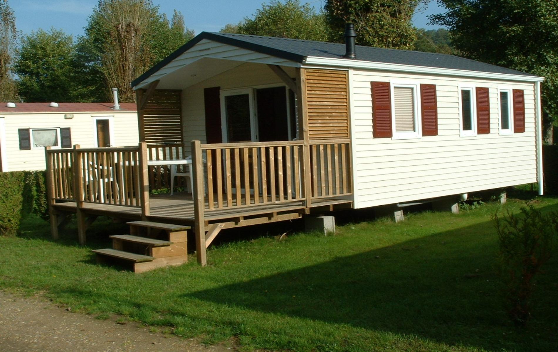 Mobil-Home 1 chambre - terrasse semi couverte