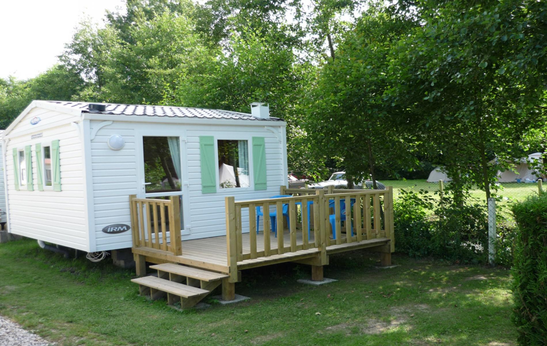 Mobil-Home 1 chambre avec terrasse