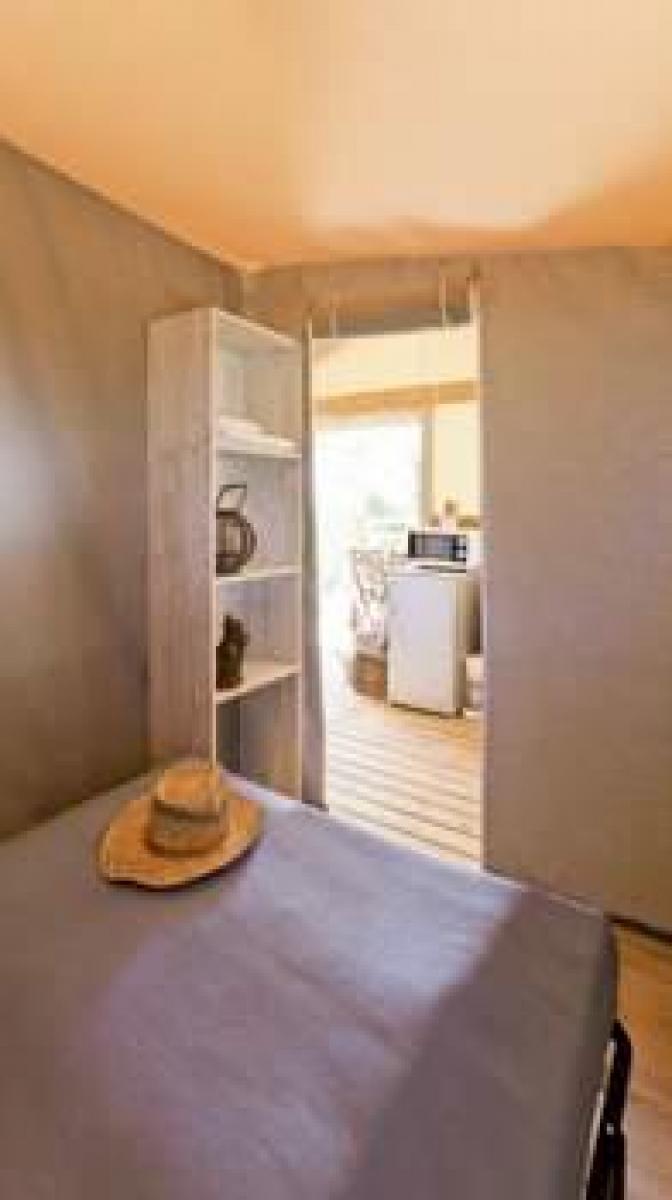 Chambre adultes cabane Lodge Aventure