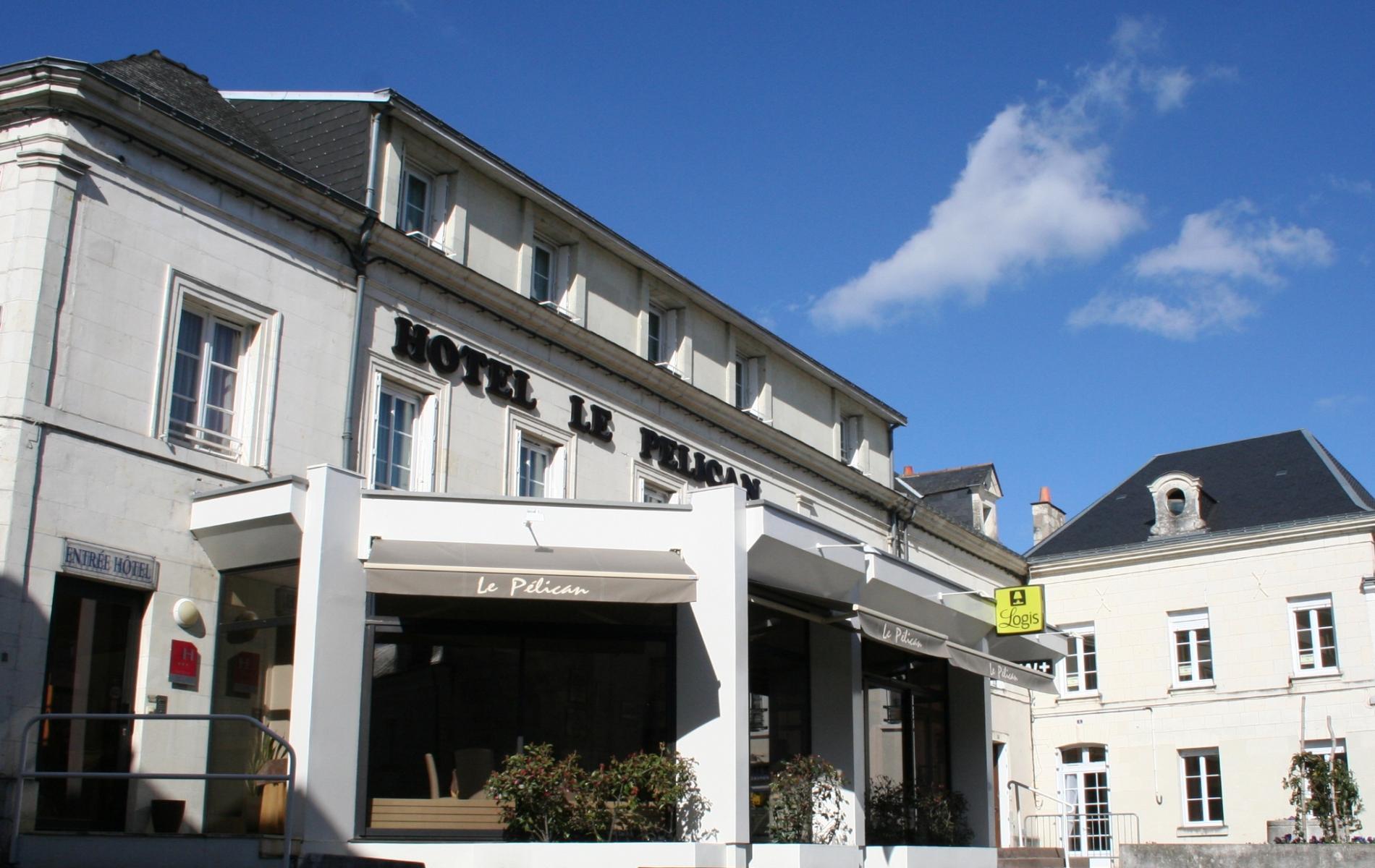 Hôtel Le Pélican à 19 km de Saumur