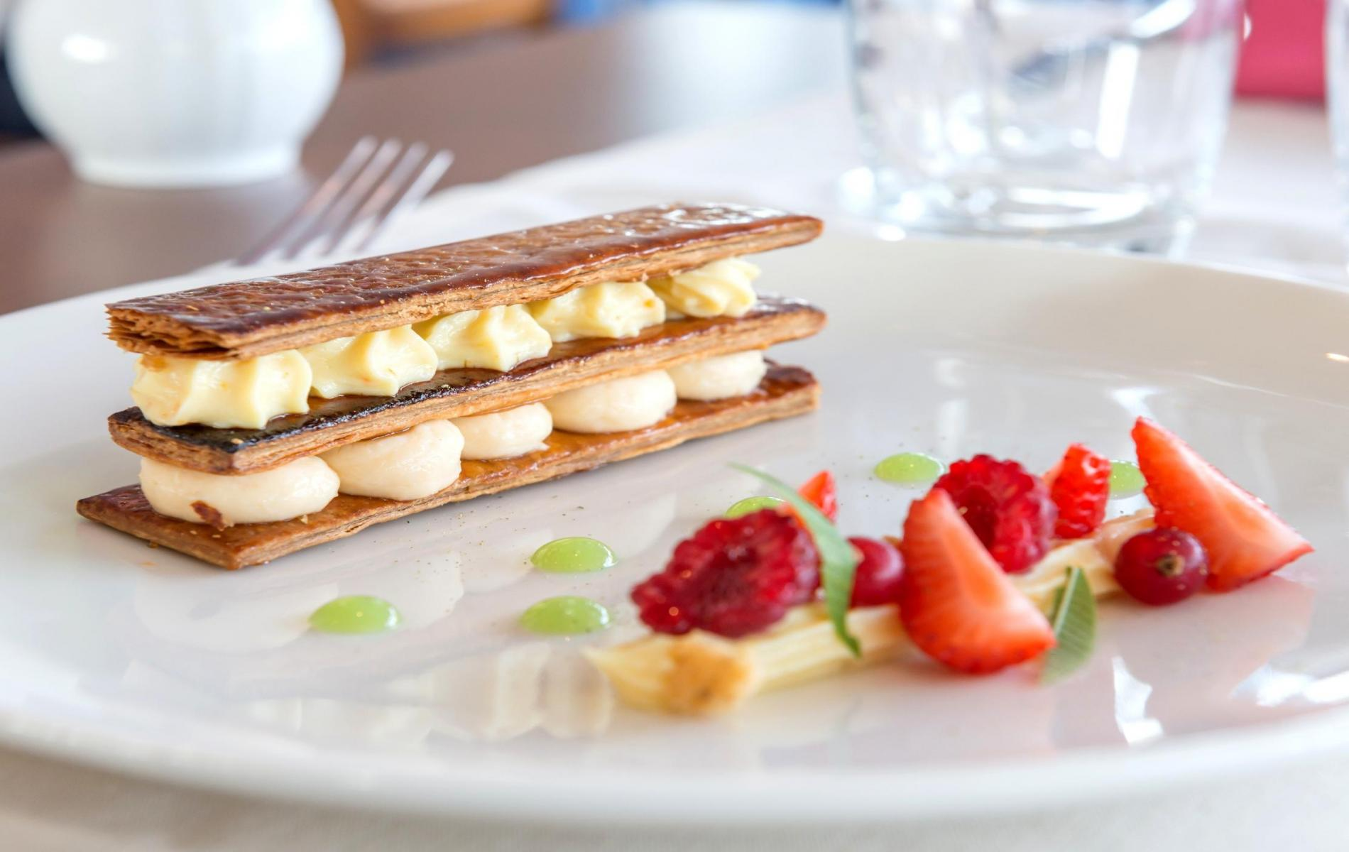 Millefeuilles aux agrumes