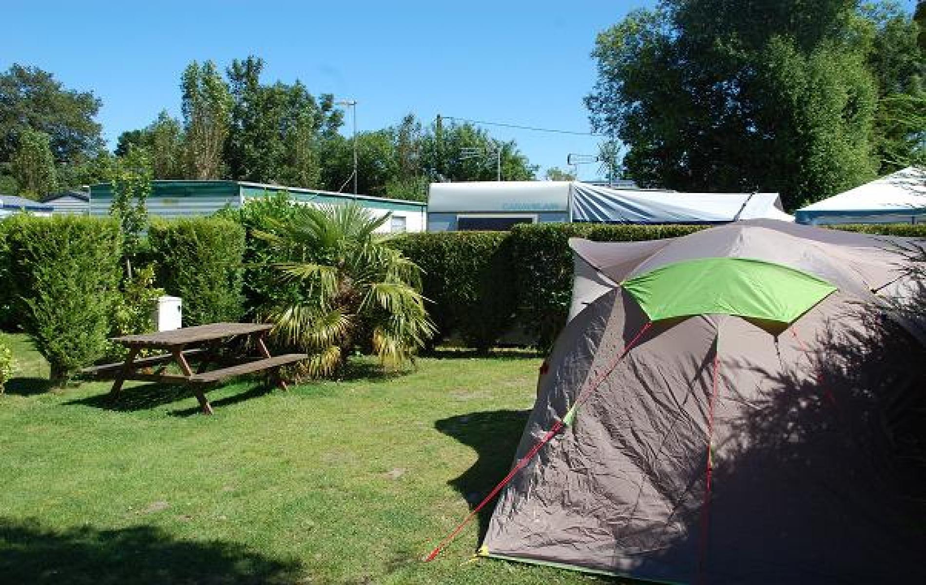 Emplacement pour tente en normandie à quelques minutes de la mer