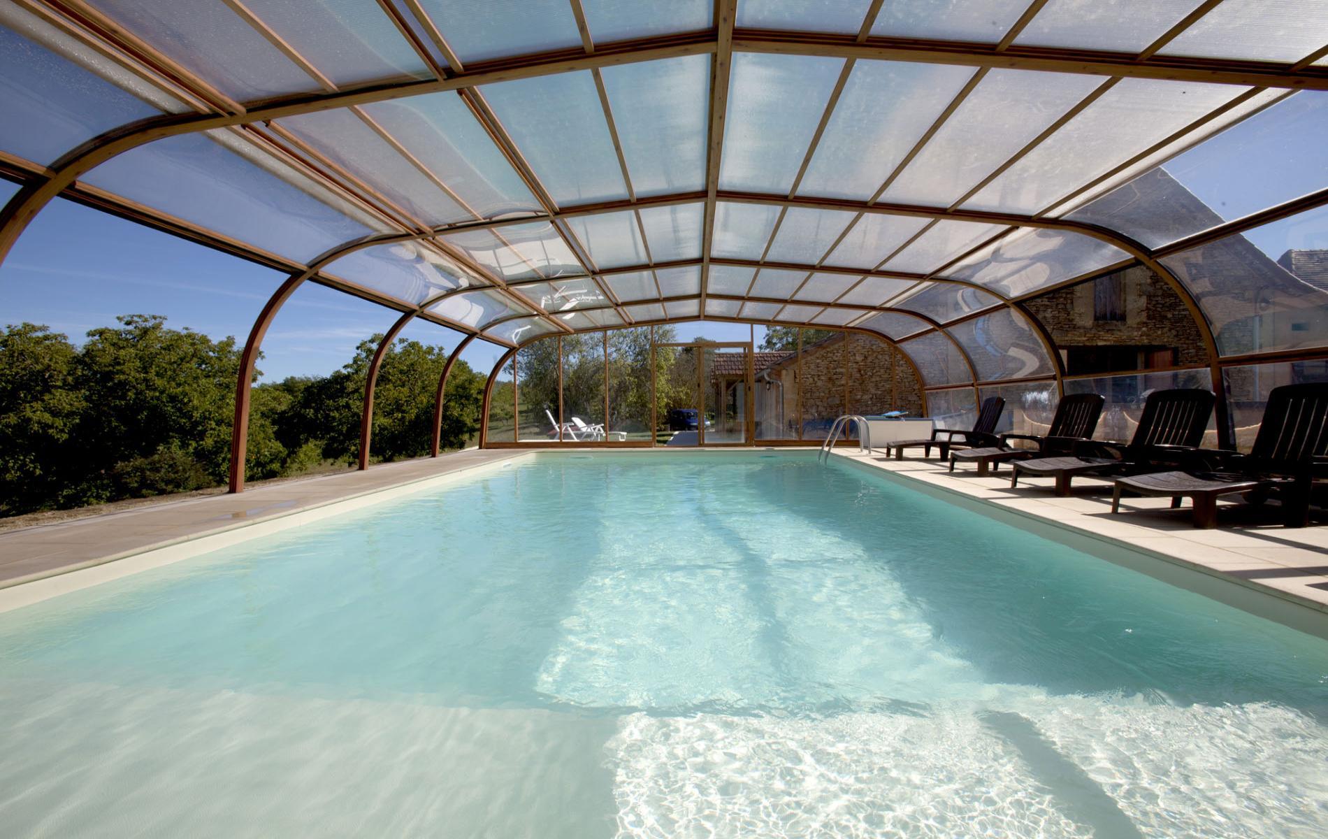 Hotel Dordogne Piscine Couverte