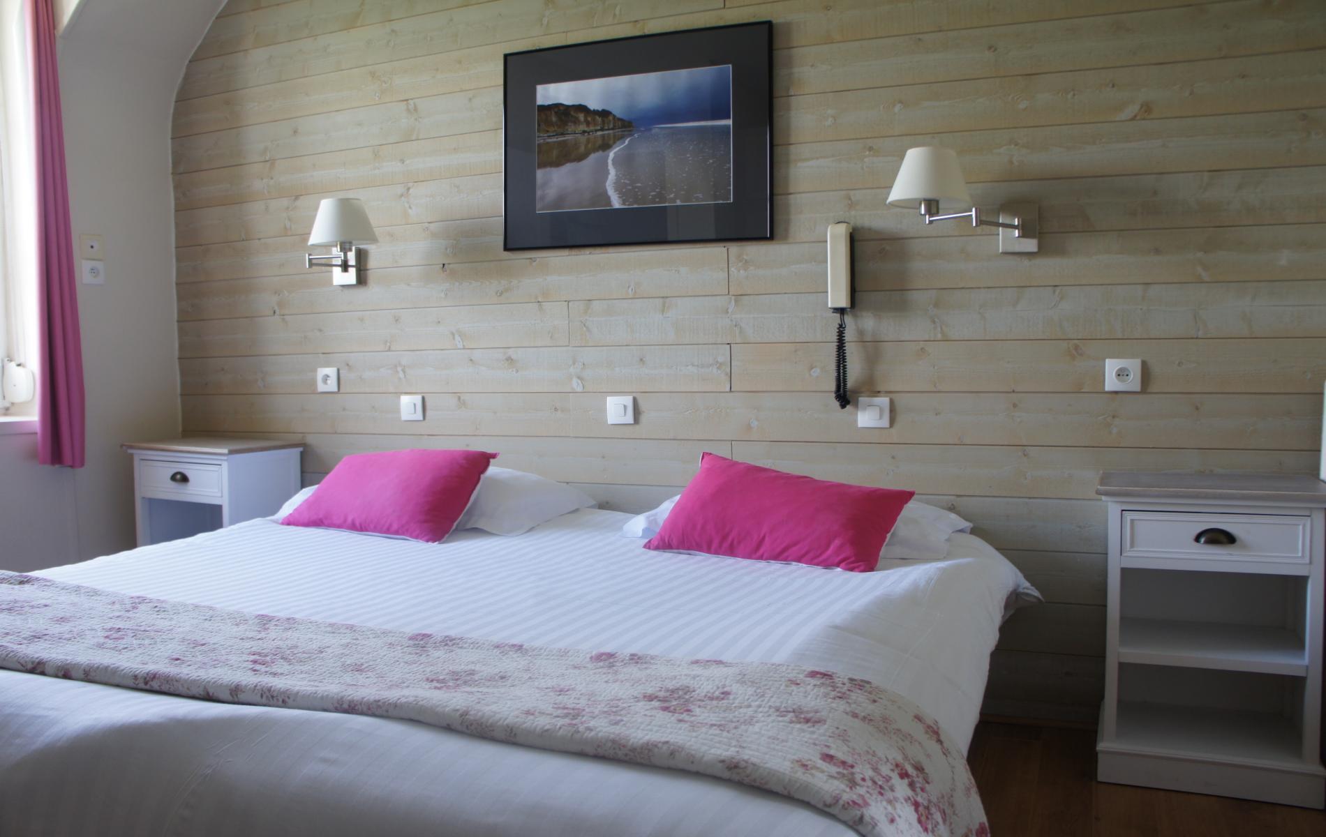 Chambre hotel de la terrasse varengeville sur mer