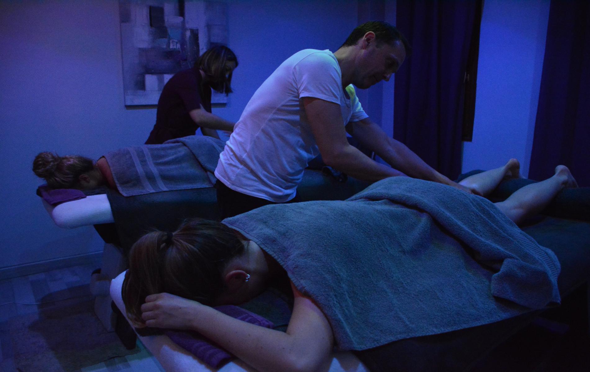 Massage intuitif, soin et massage
