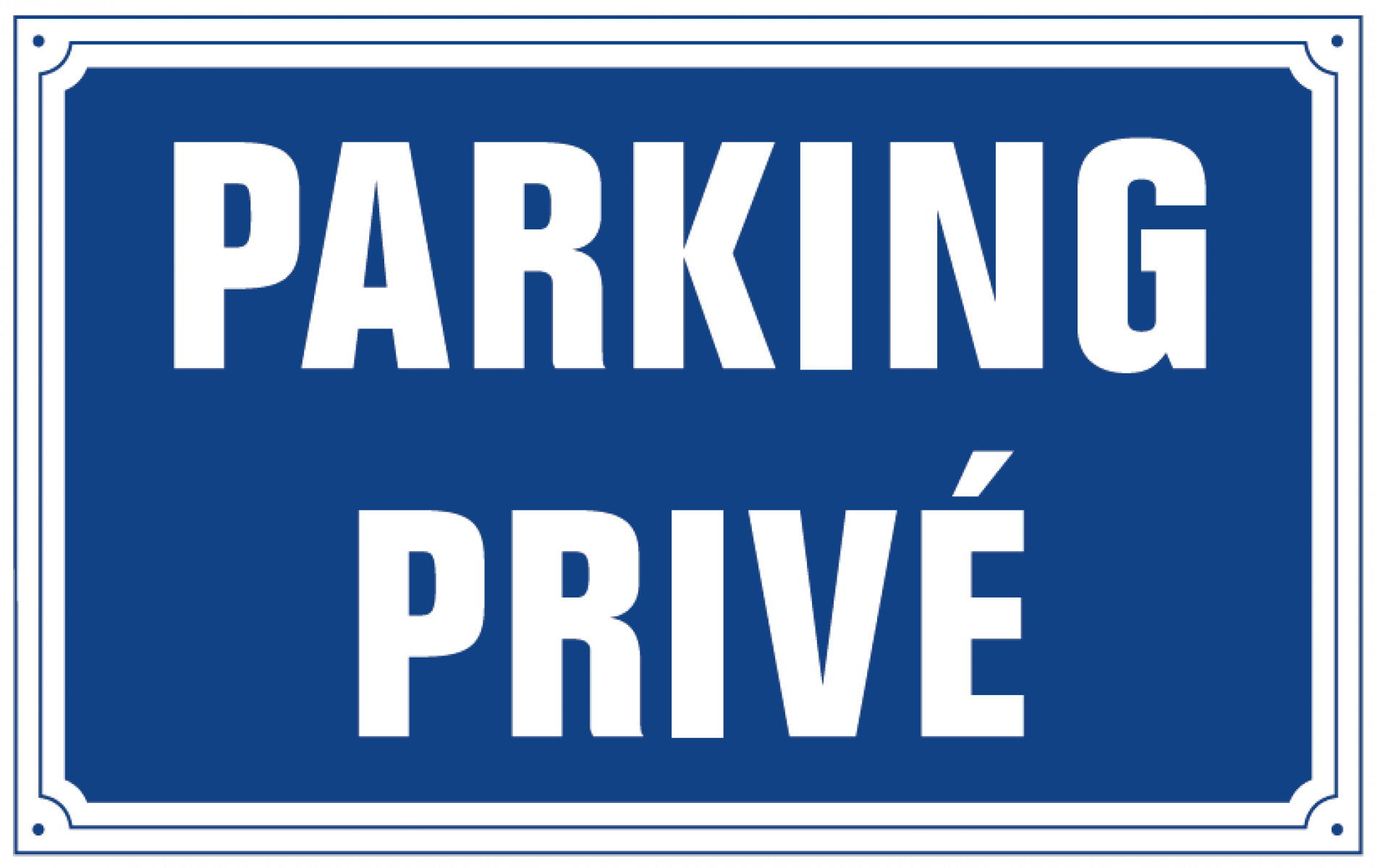 Free private parking
