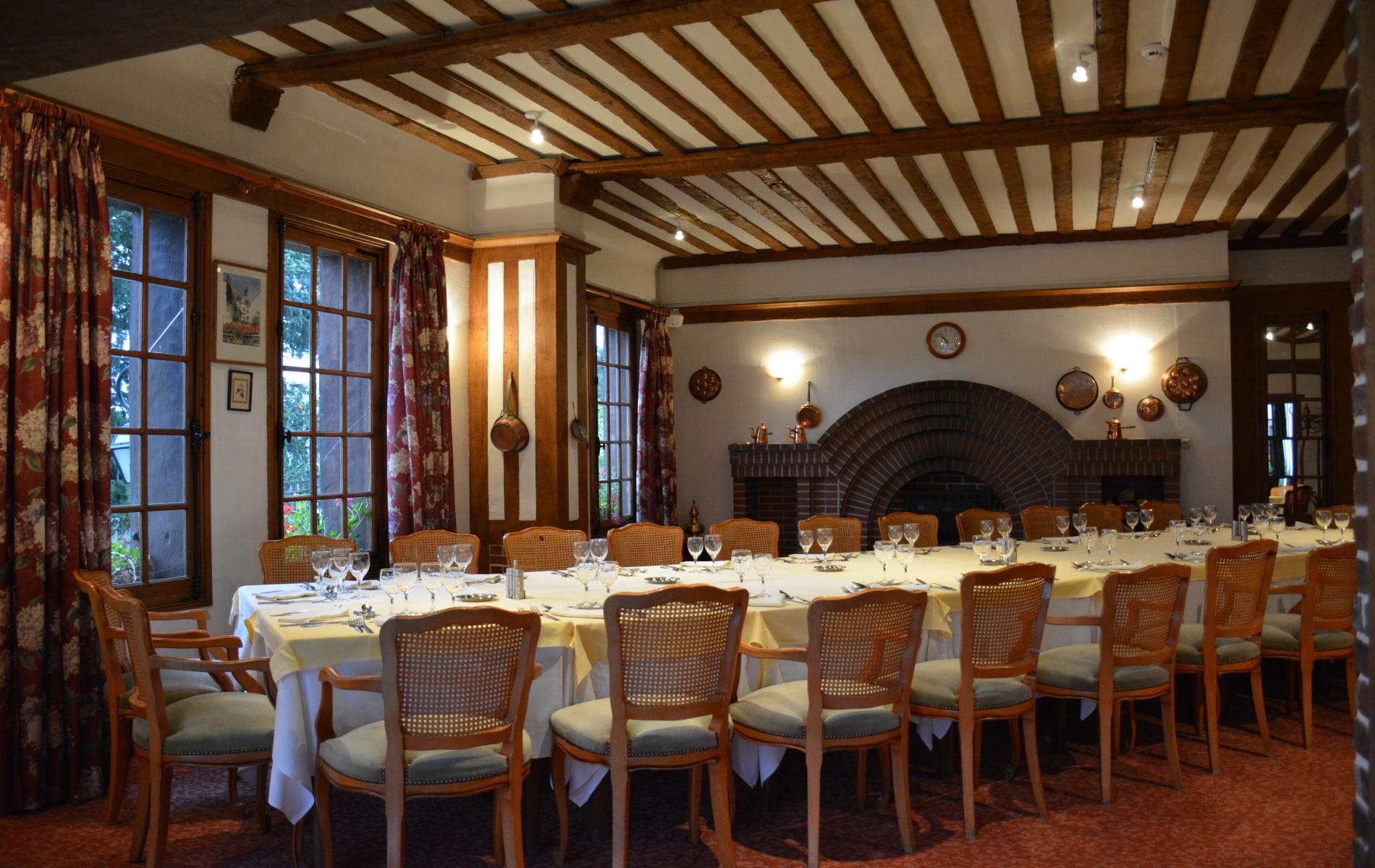 Réception entre Deauville  au Clos Saint Gatien