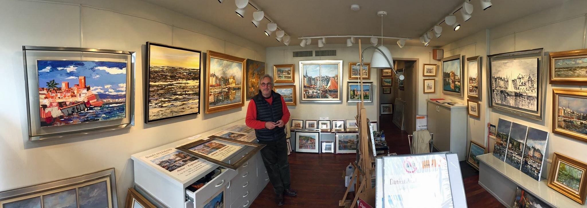 Daniel Lallemand artiste peintre à Honfleur