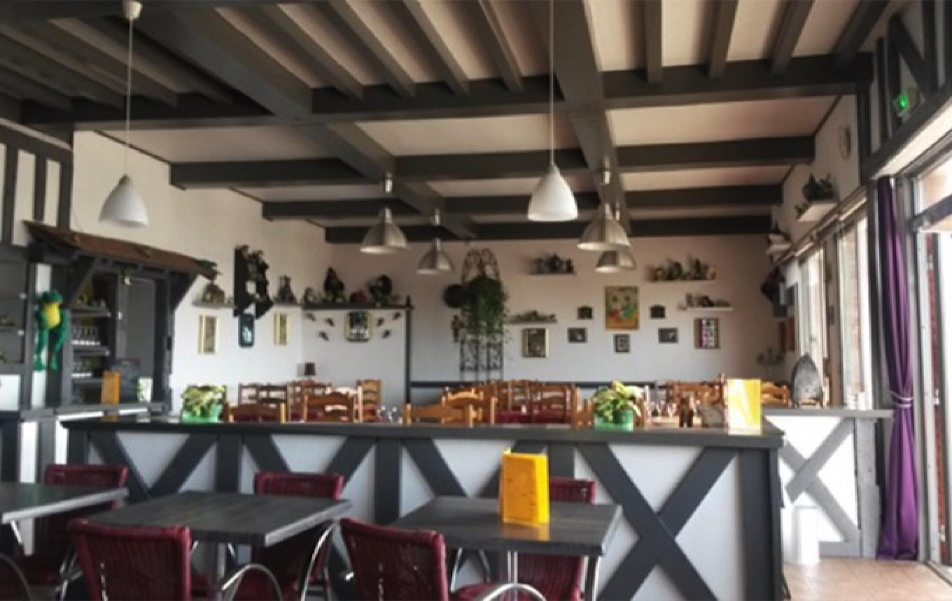Restaurant avec terrasse vue mer  à Villerville