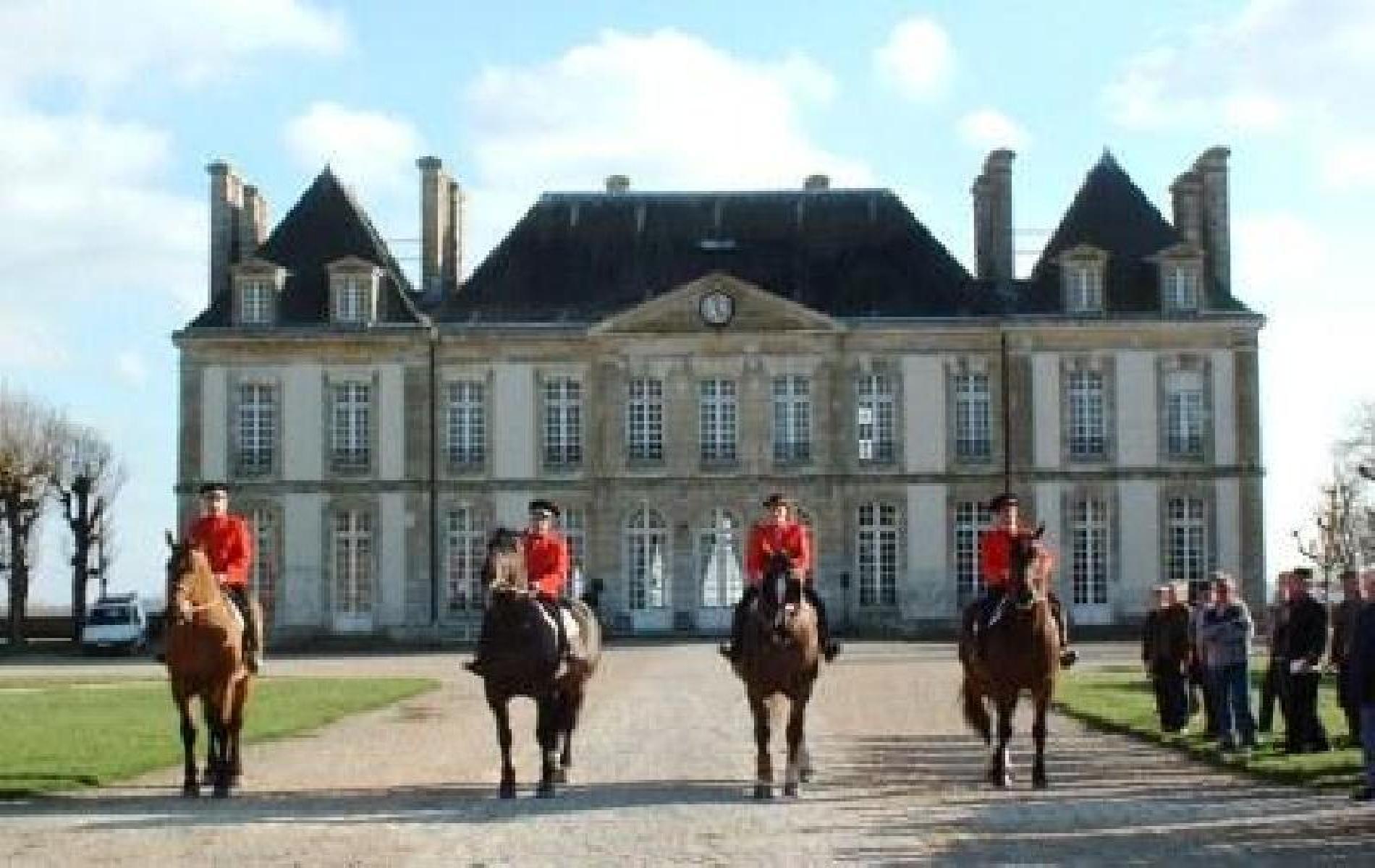 Château bleu Haras National du Pin