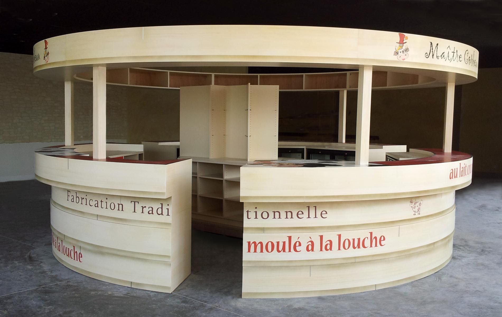 Comptoir bar - Restaurant Maître Corbeau - Mondeville