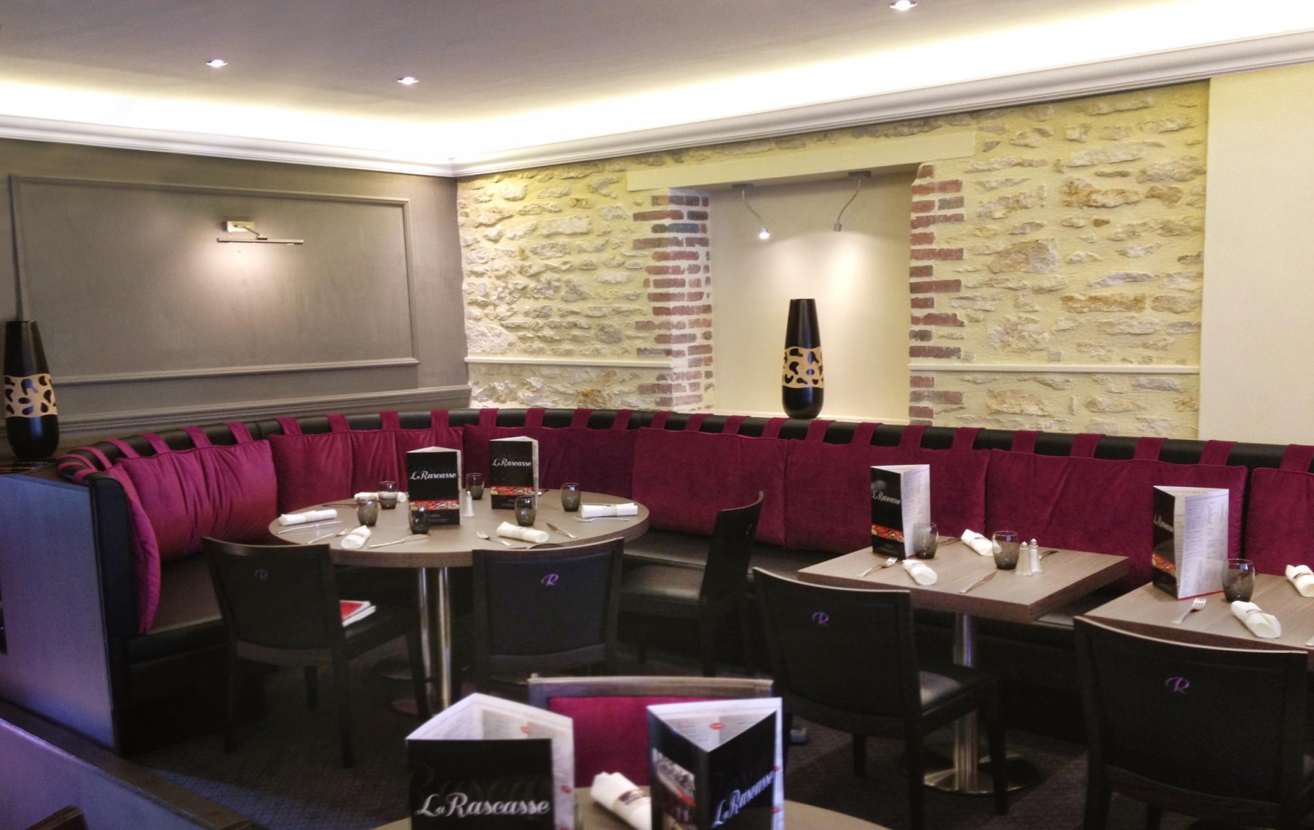 Salle de restaurant - La Rascasse - Ouistreham