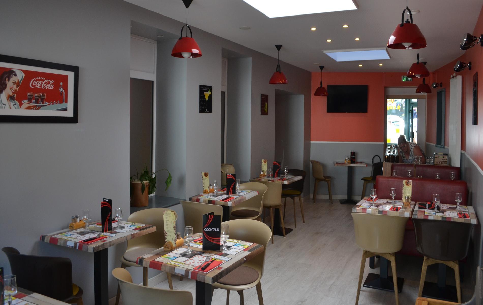 Brasserie, Bar lounge à Bolbec