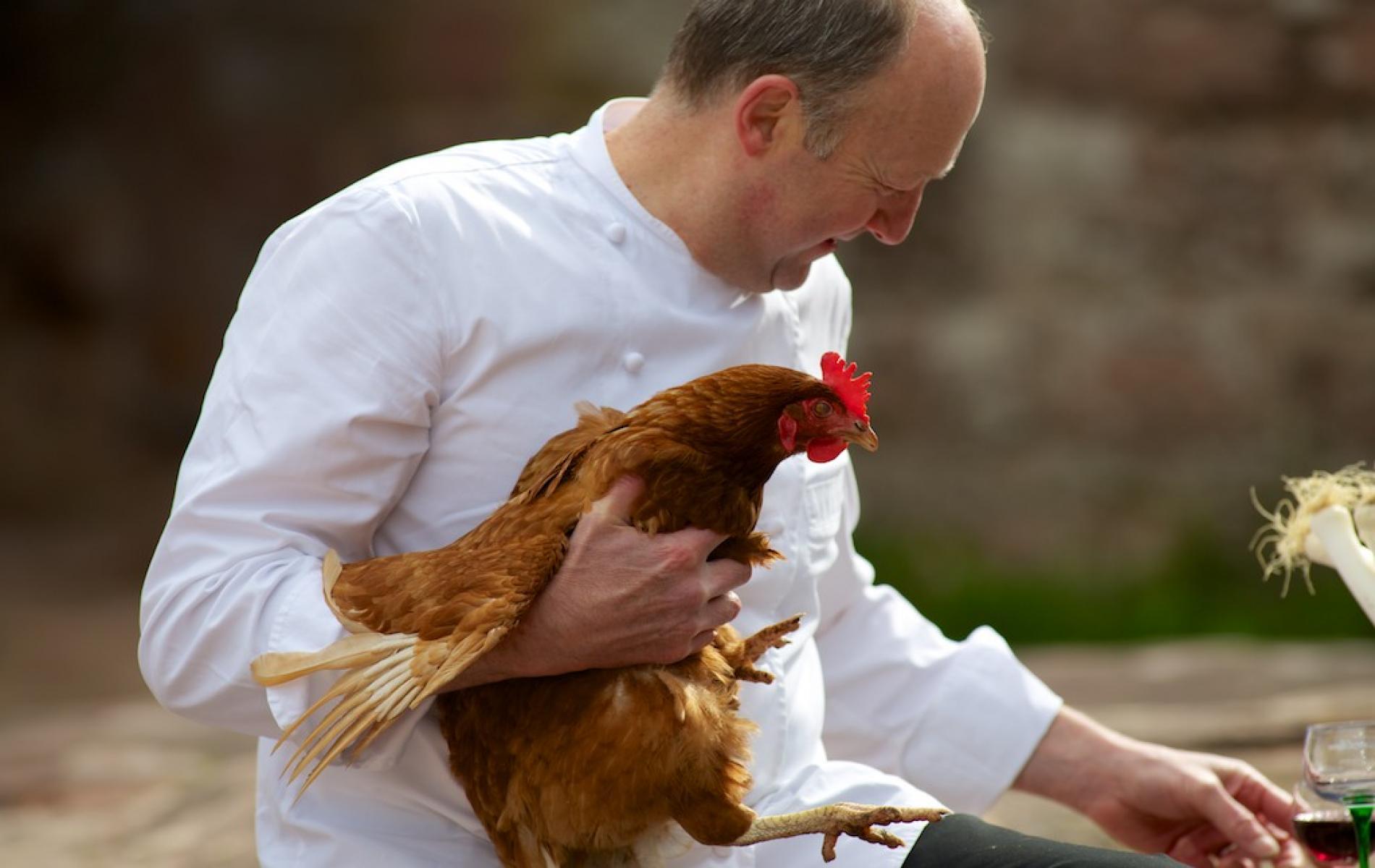 Michel Zinck, chef de cuisine