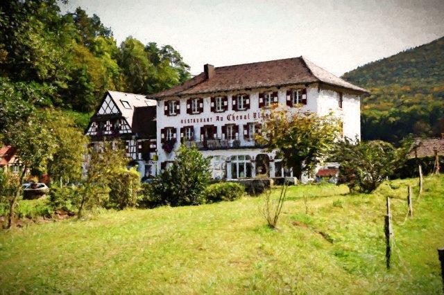 Hôtel au coeur de la nature