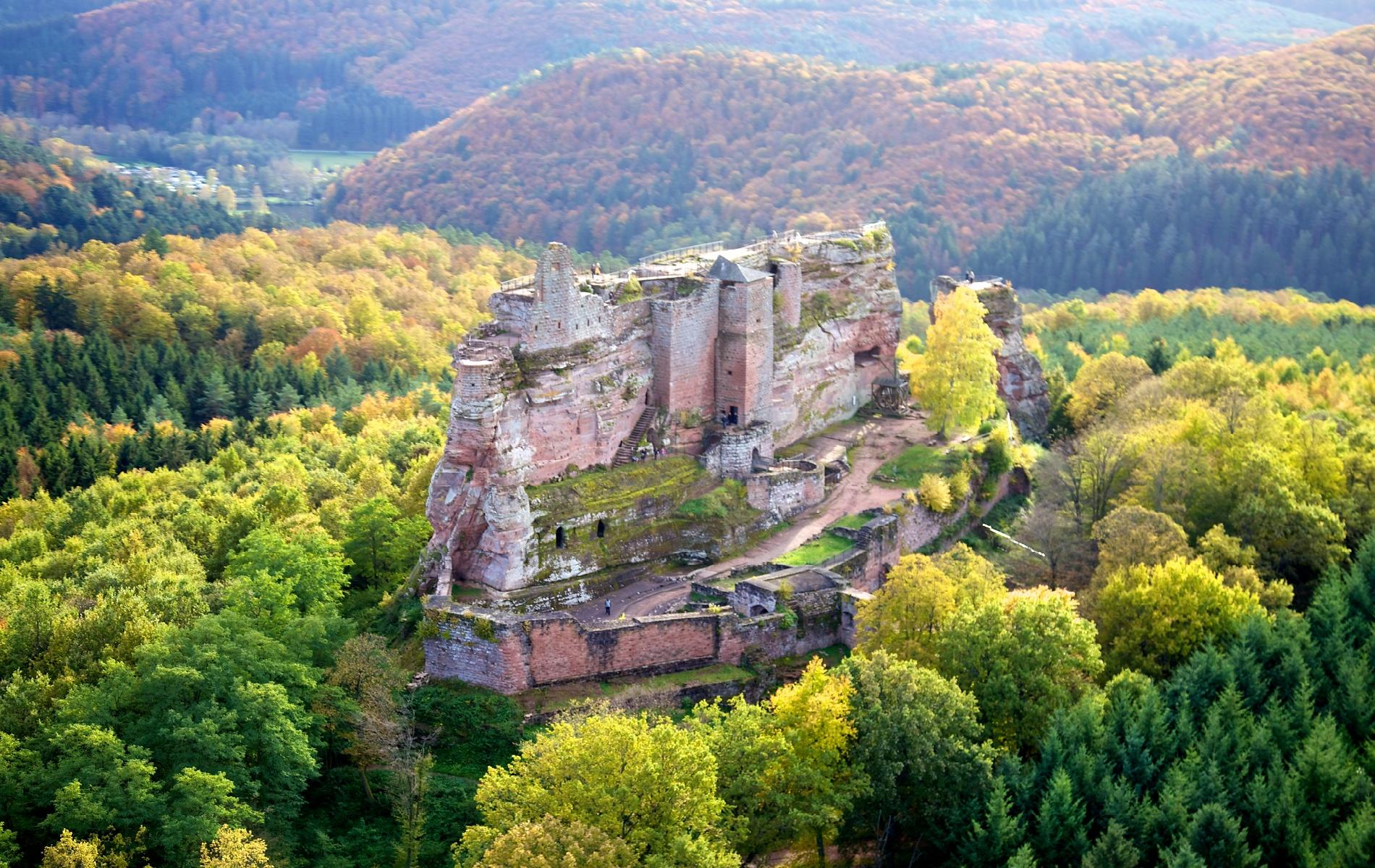 Castle of Fleckenstein