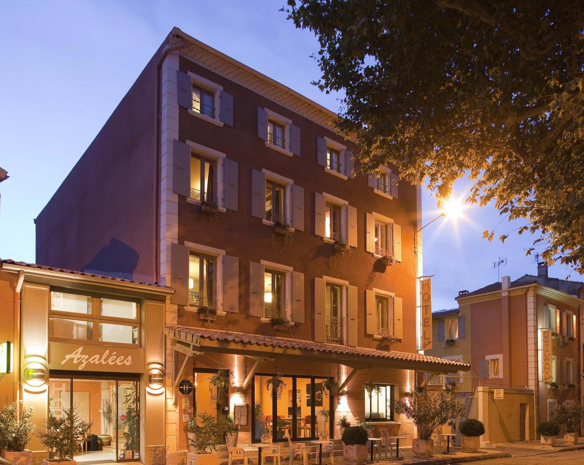 Logis Hotel Azal U00e9es In Tournon  Rhone  Ardeche Between Lyon