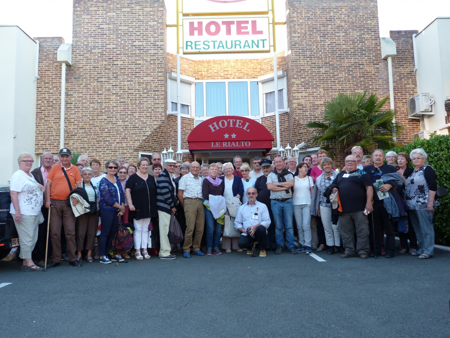 HOTEL RESTAURANT GROUPE 3eme AGE ALBI