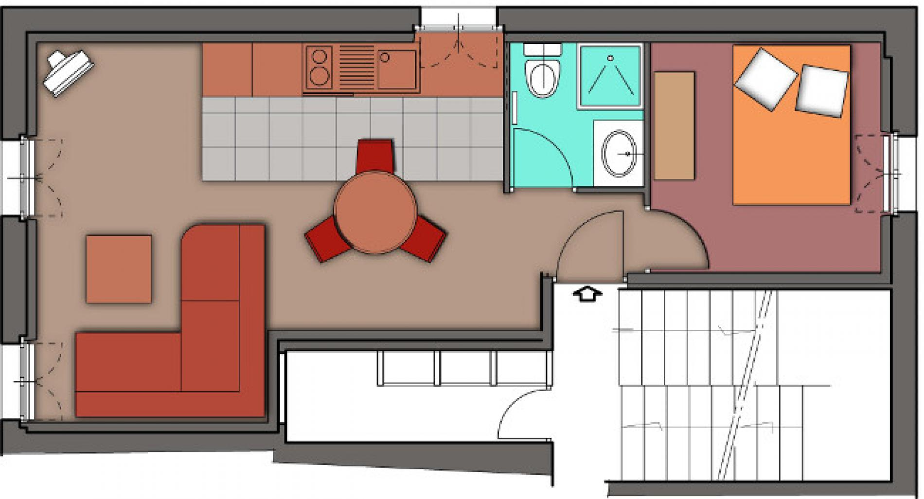 Plan des appartements