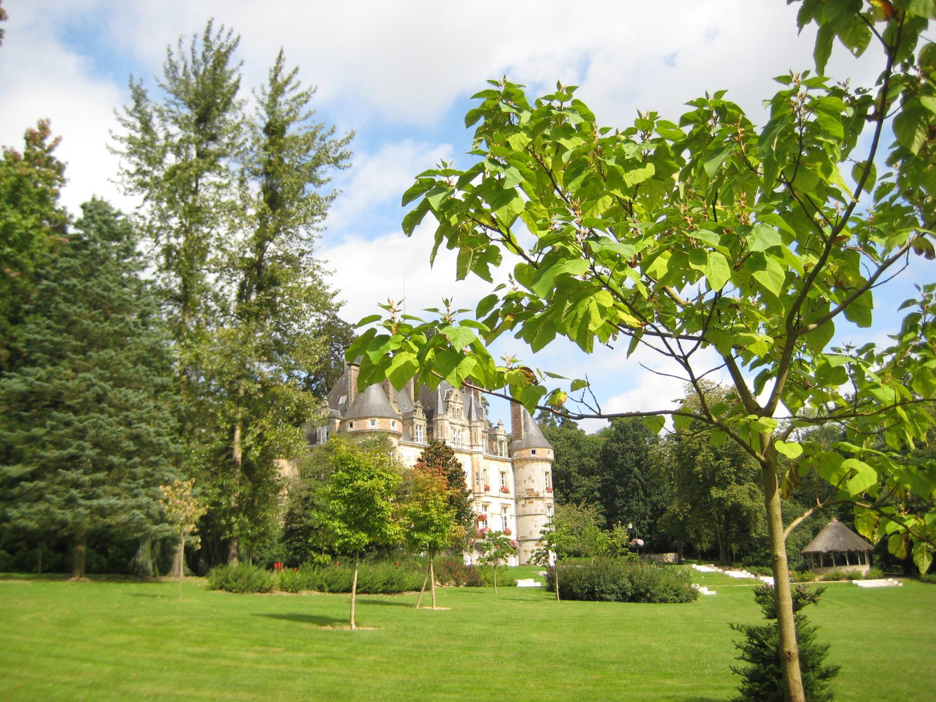 The Castle Park arboretum