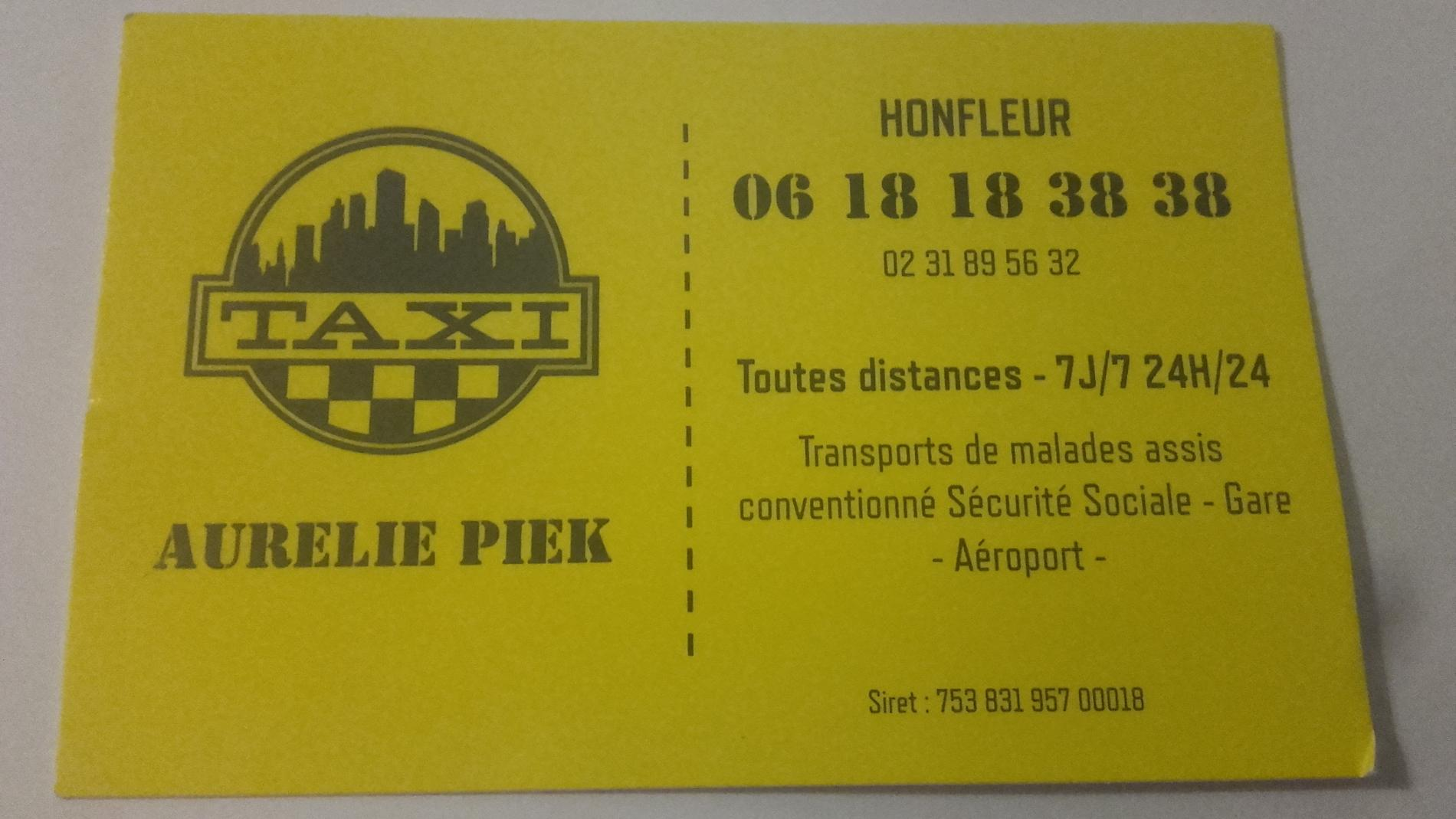 Taxi Aurélie Piek