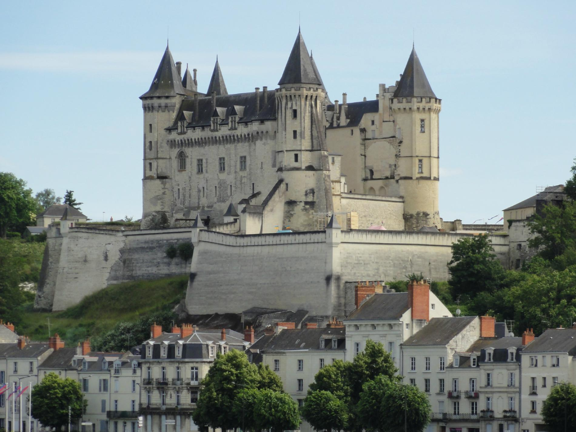 The Château of Saumur