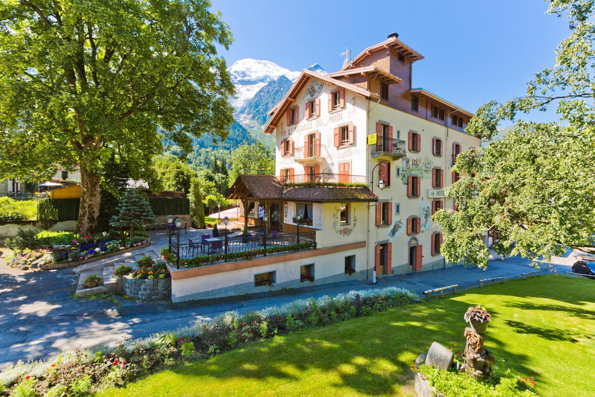 ∞ Logis Hotel Chamonix Mont Blanc Hotel Aiguille du Midi