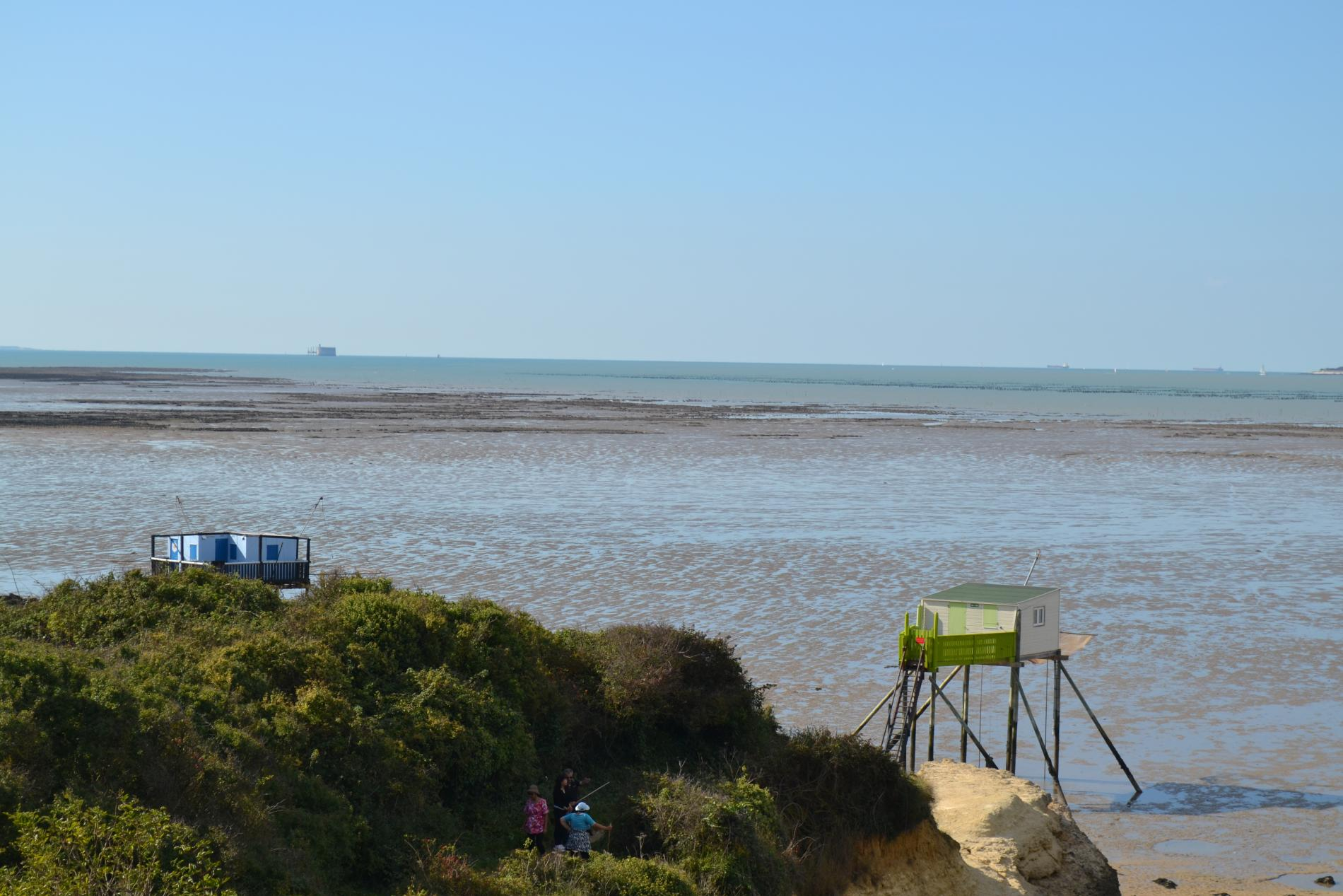 Logis h tel la chaloupe situ l 39 entr e de l 39 estuaire de - Restaurant la chaloupe port des barques ...
