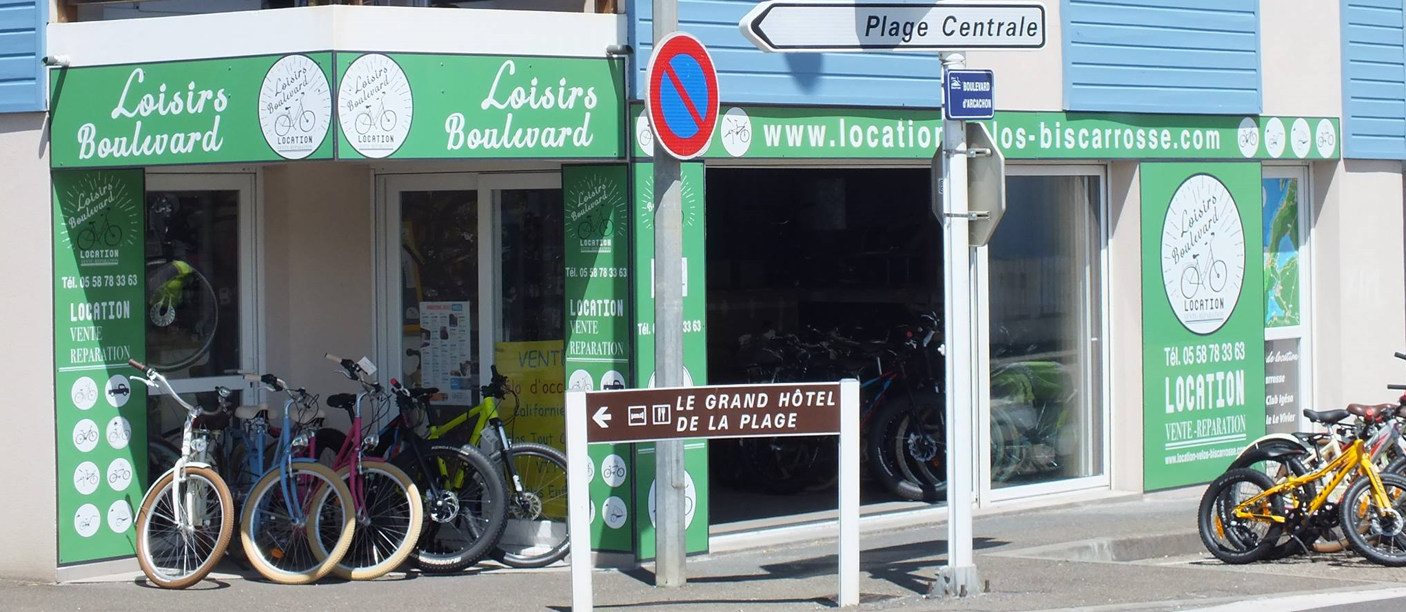 Cycle rental in Biscarrosse Plage