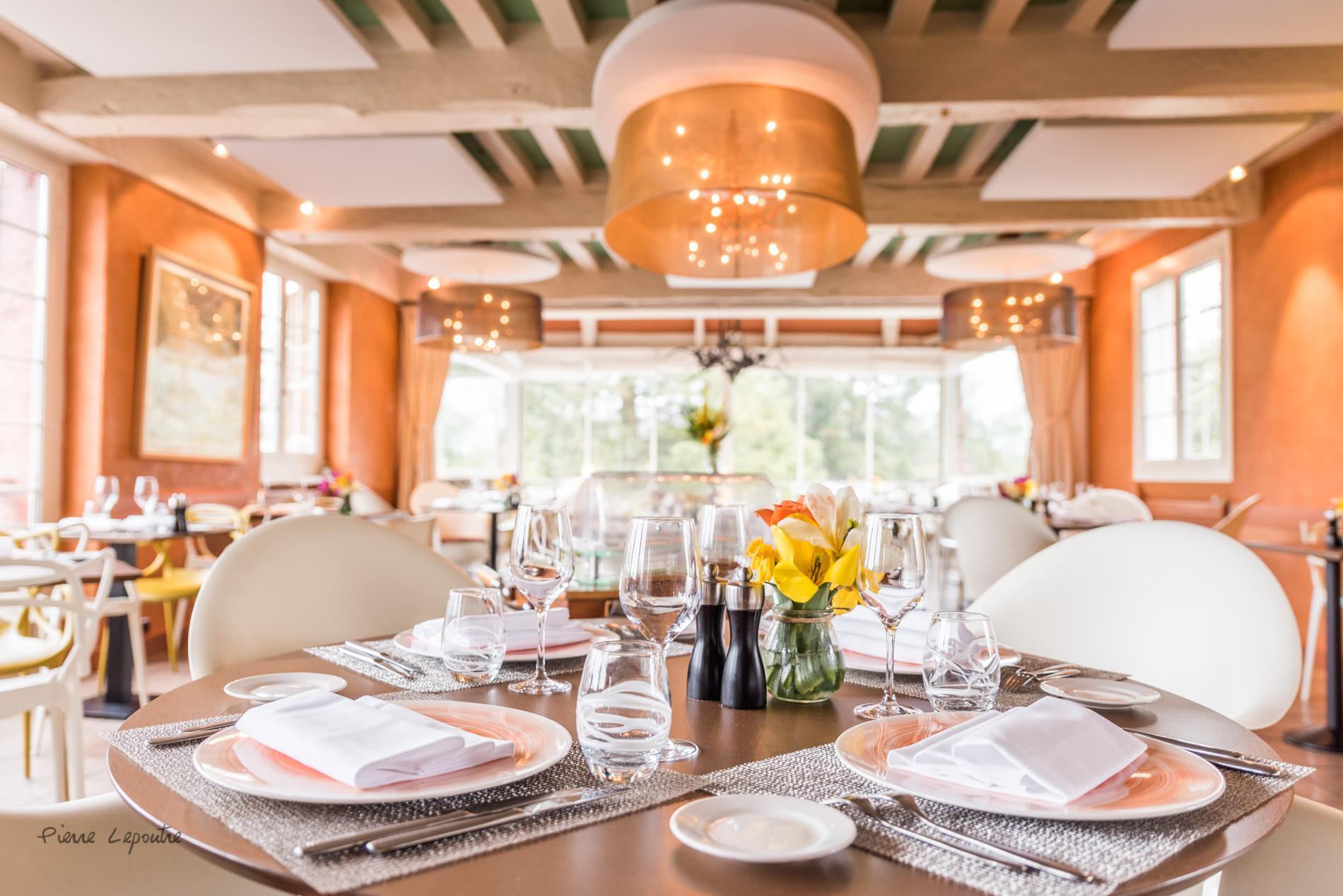 Restaurant avec vue panoramique sur le Parc