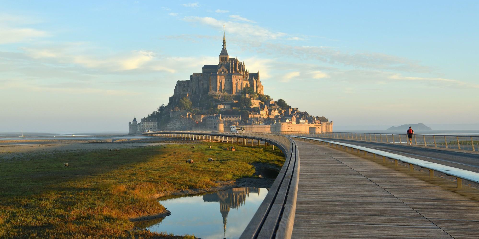 The Bay of Mont Saint Michel