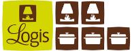 Logo Logis hôtel Les Glycines Melle, Poitou Charentes