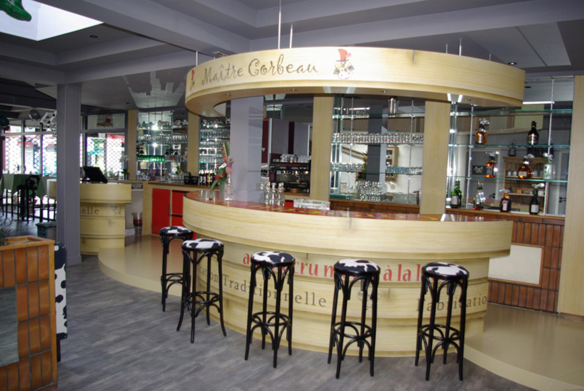 Comptoir de bar - Maître Corbeau - Le Havre