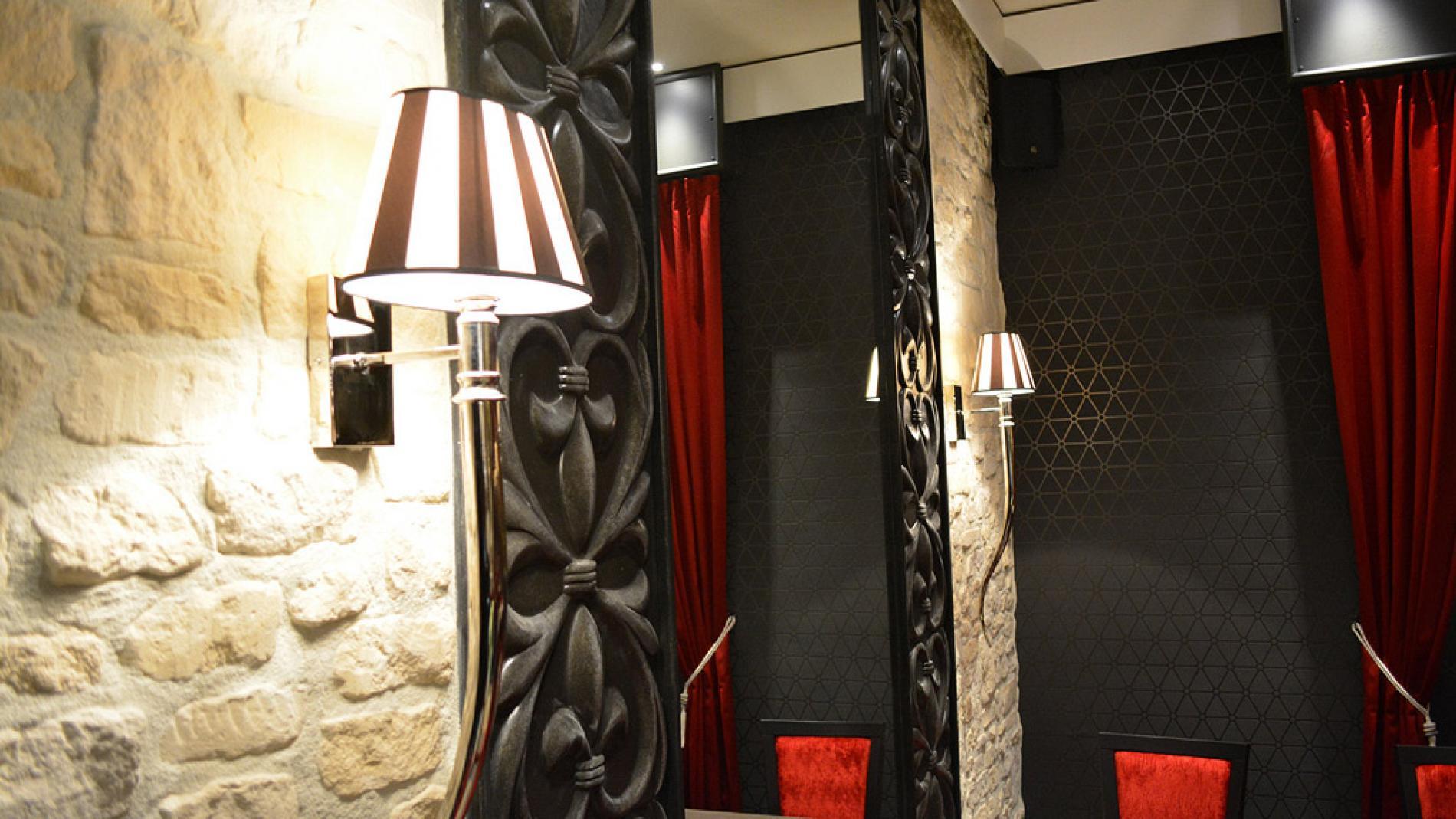 Salle de restaurant - Hôtel de la Place - Aunay sur Odon