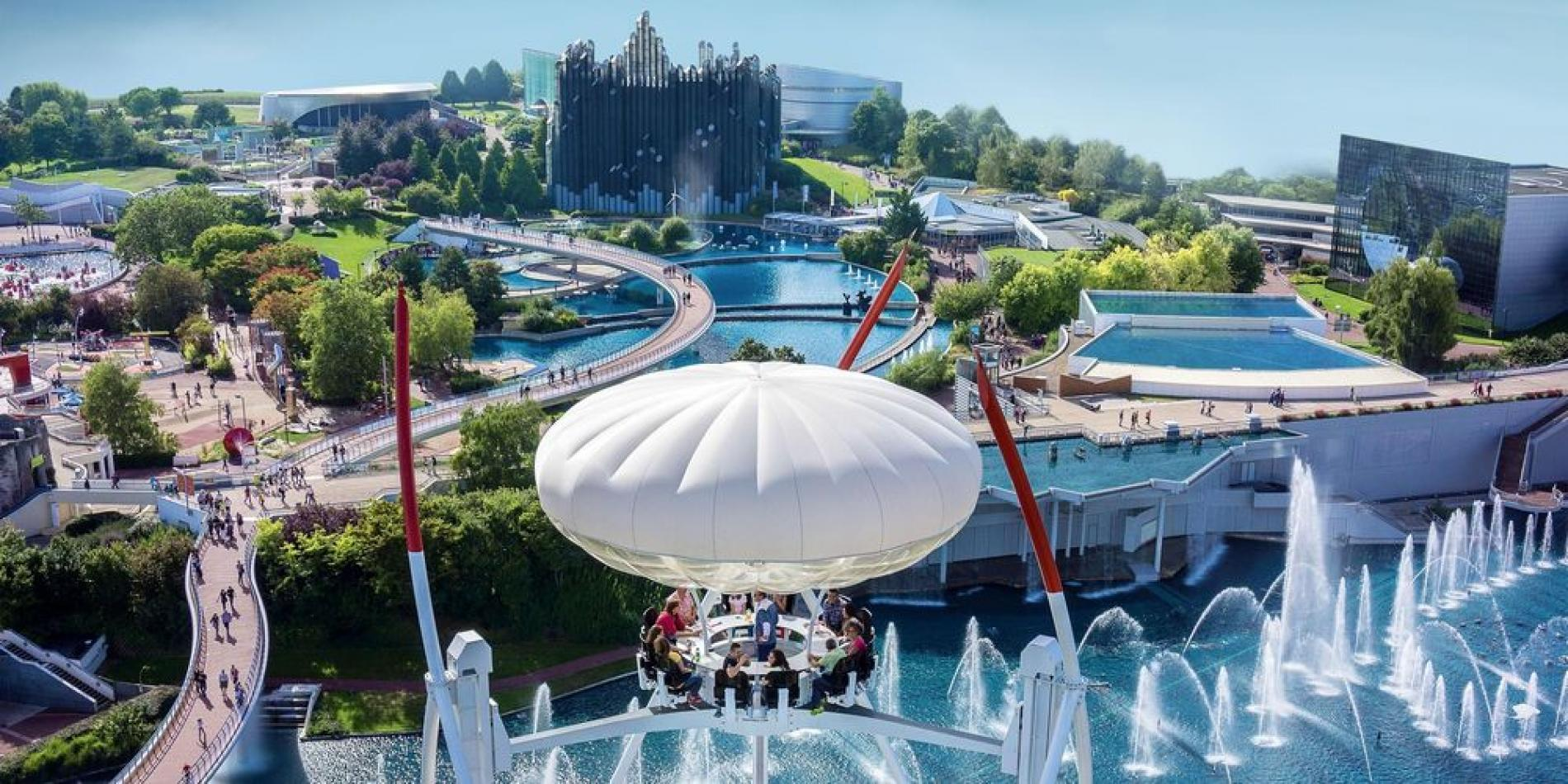 Futuroscope in Poitiers