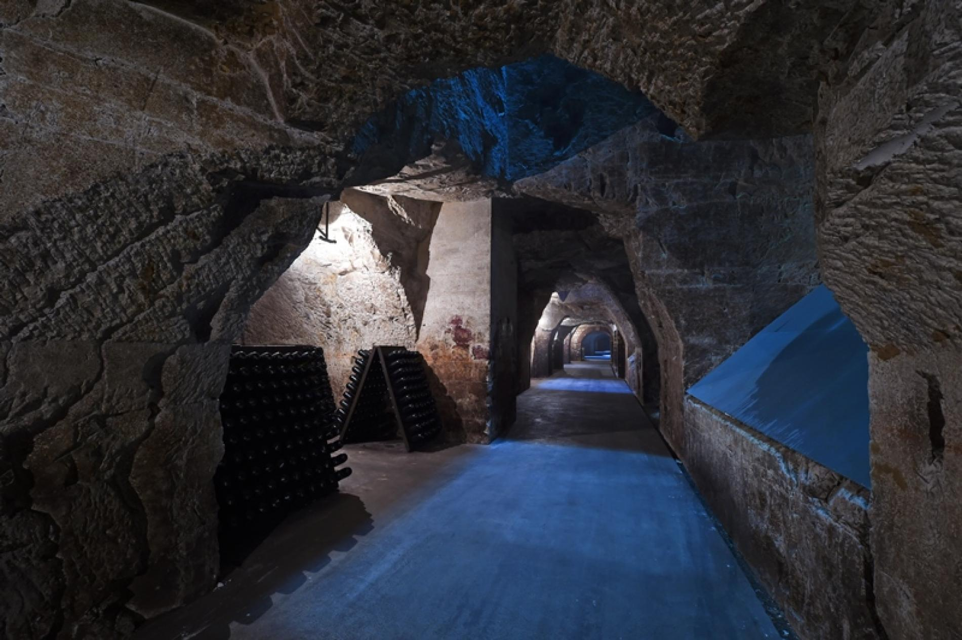 The cellars of Champagne Joseph Perrier