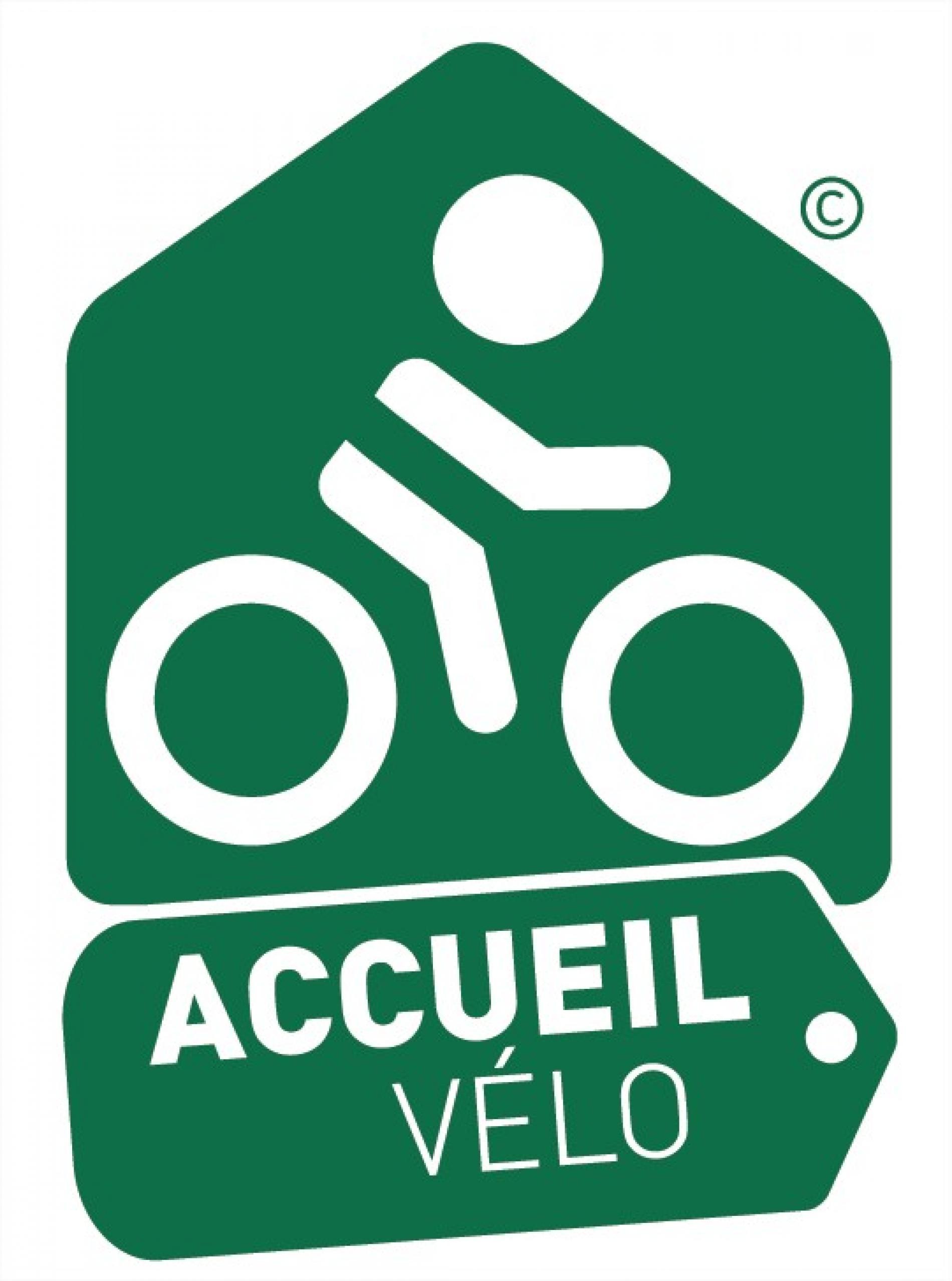 Acceuil vélo avec parking gratuit