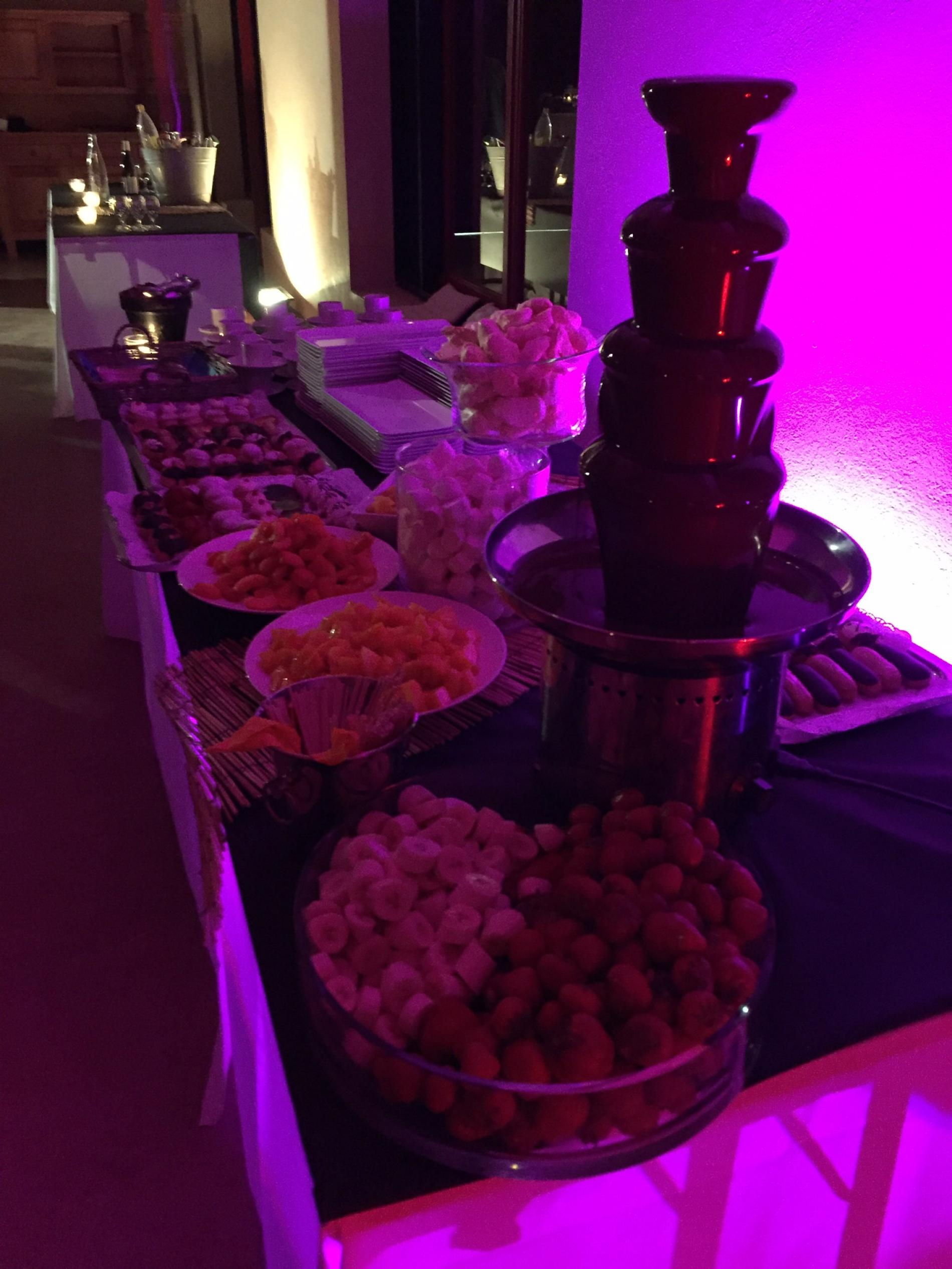 buffet de desserts Gourmands