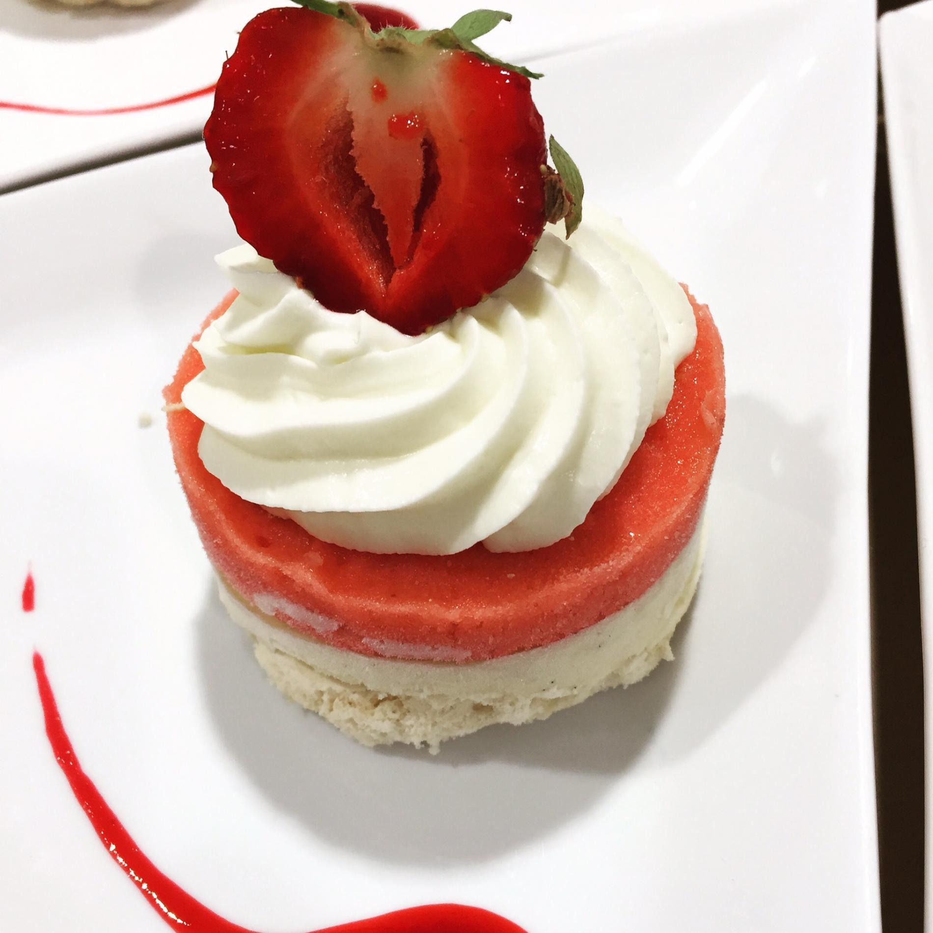 dessert a l'assiette