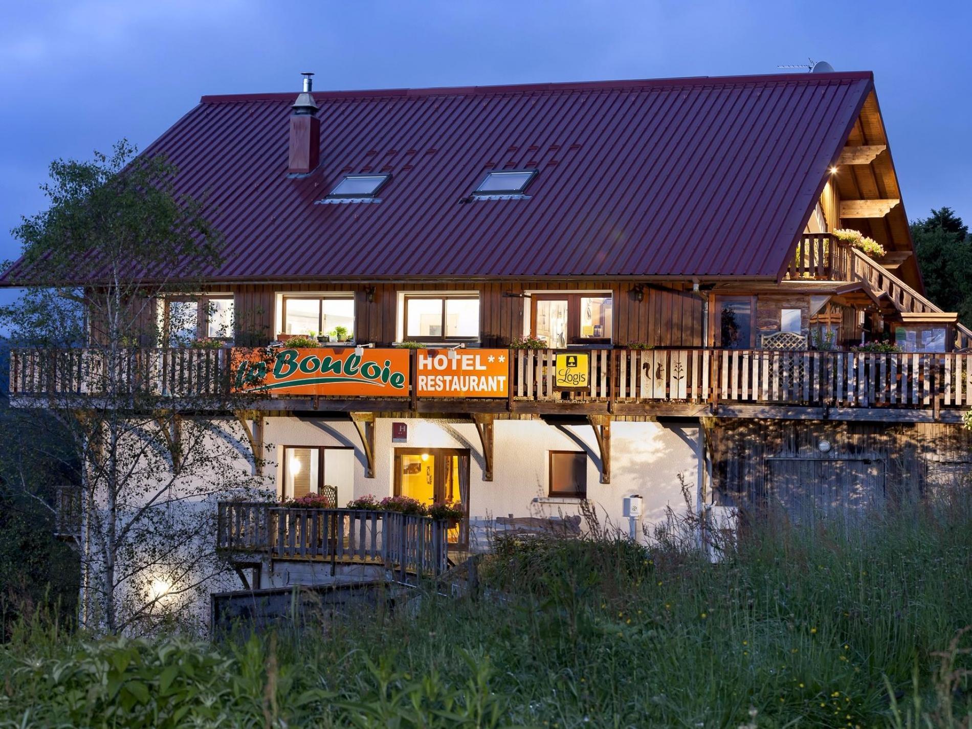 Logis Hotel vue panoramique sur la vallée ou la Moselle