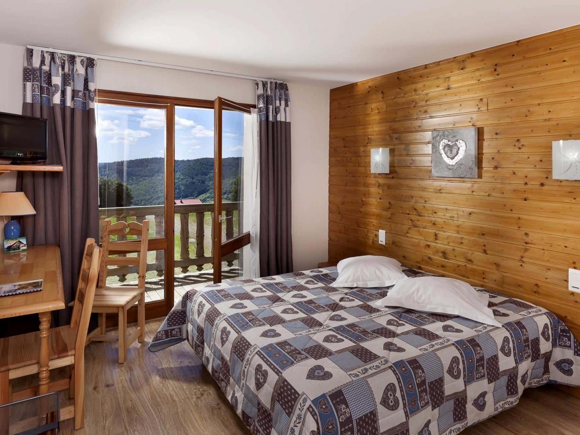 Chambres avec vue et balcon