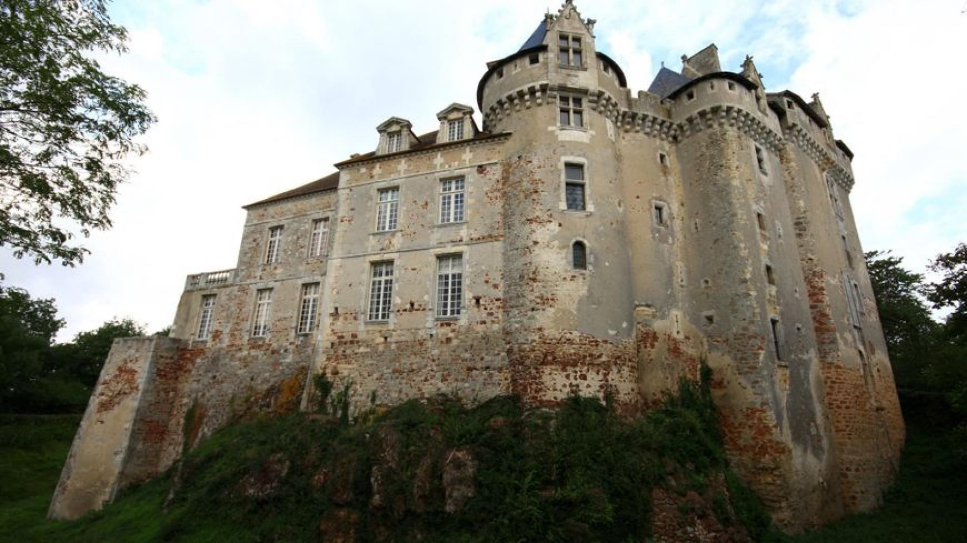 The castle of le Bouchet