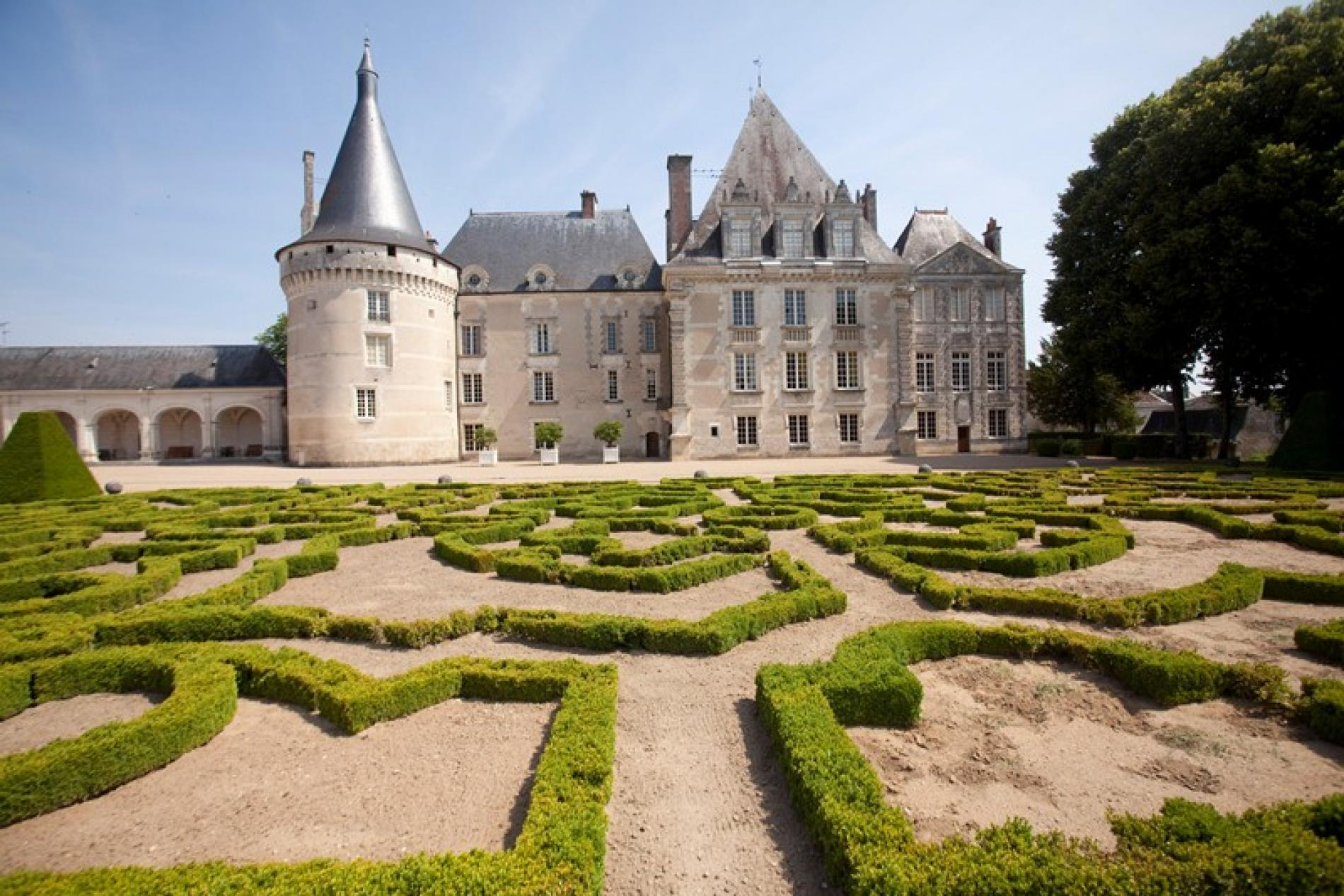 The castle of Azay-le-Ferron