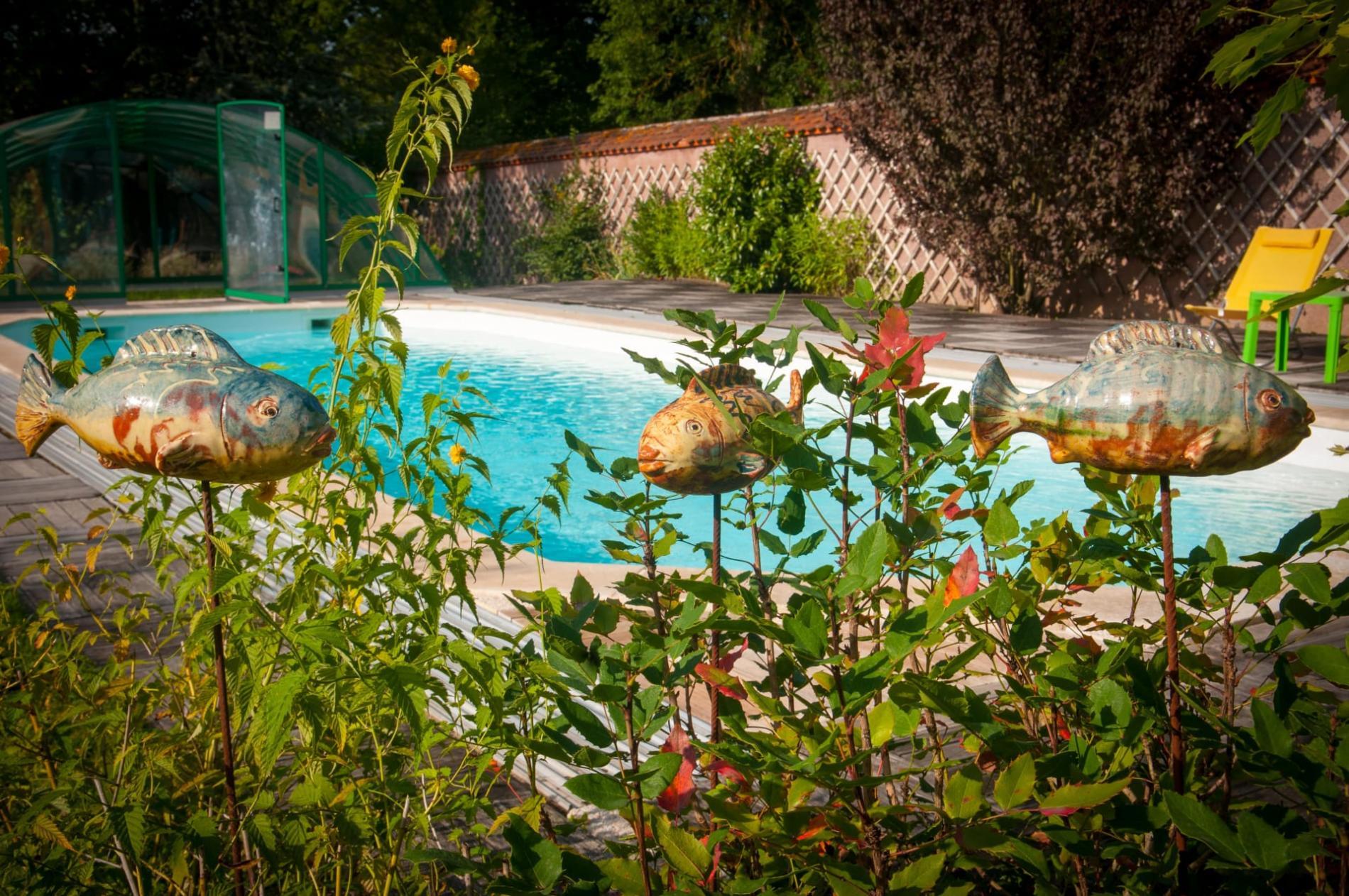 Chambres d'hôtes avec piscine à Lapalisse