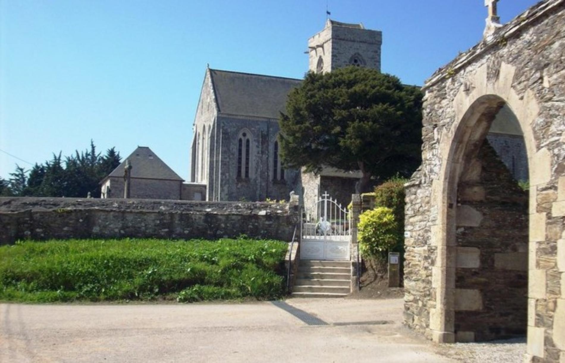 L'église Saint-Vigor de Quettehou