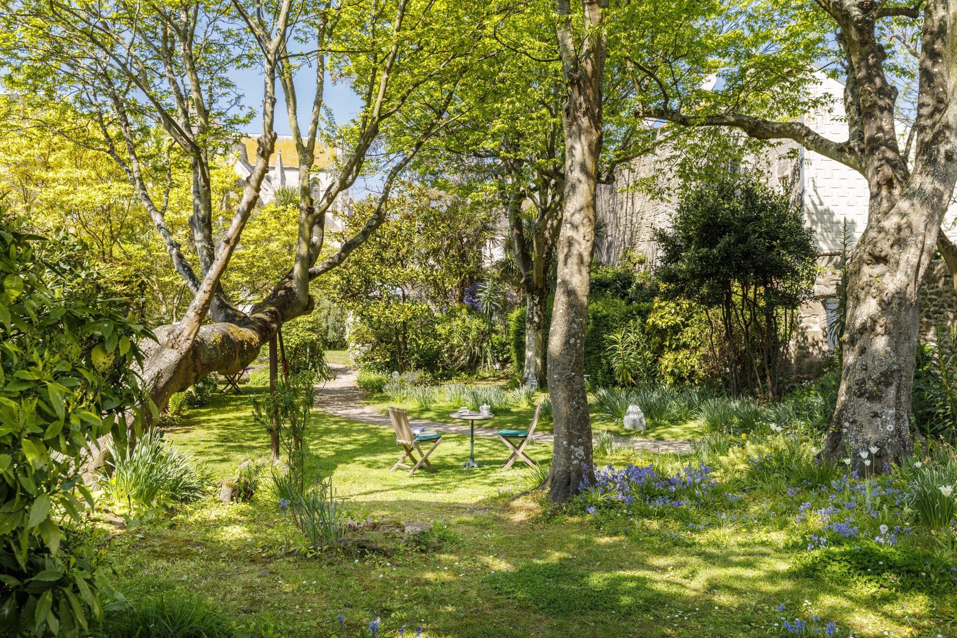 jardins fleuris en Cotentin