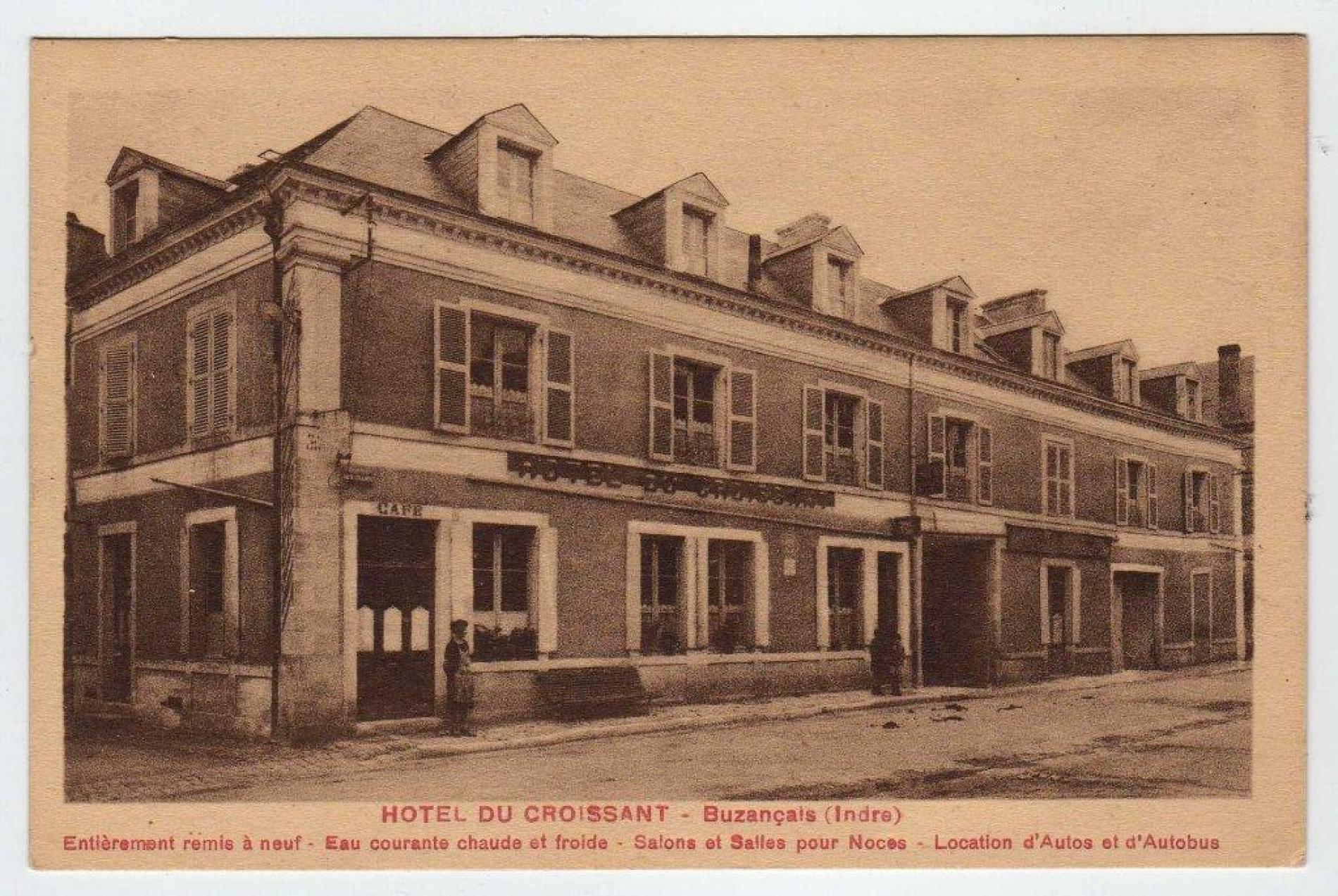 Hôtel au début de XXème siècle